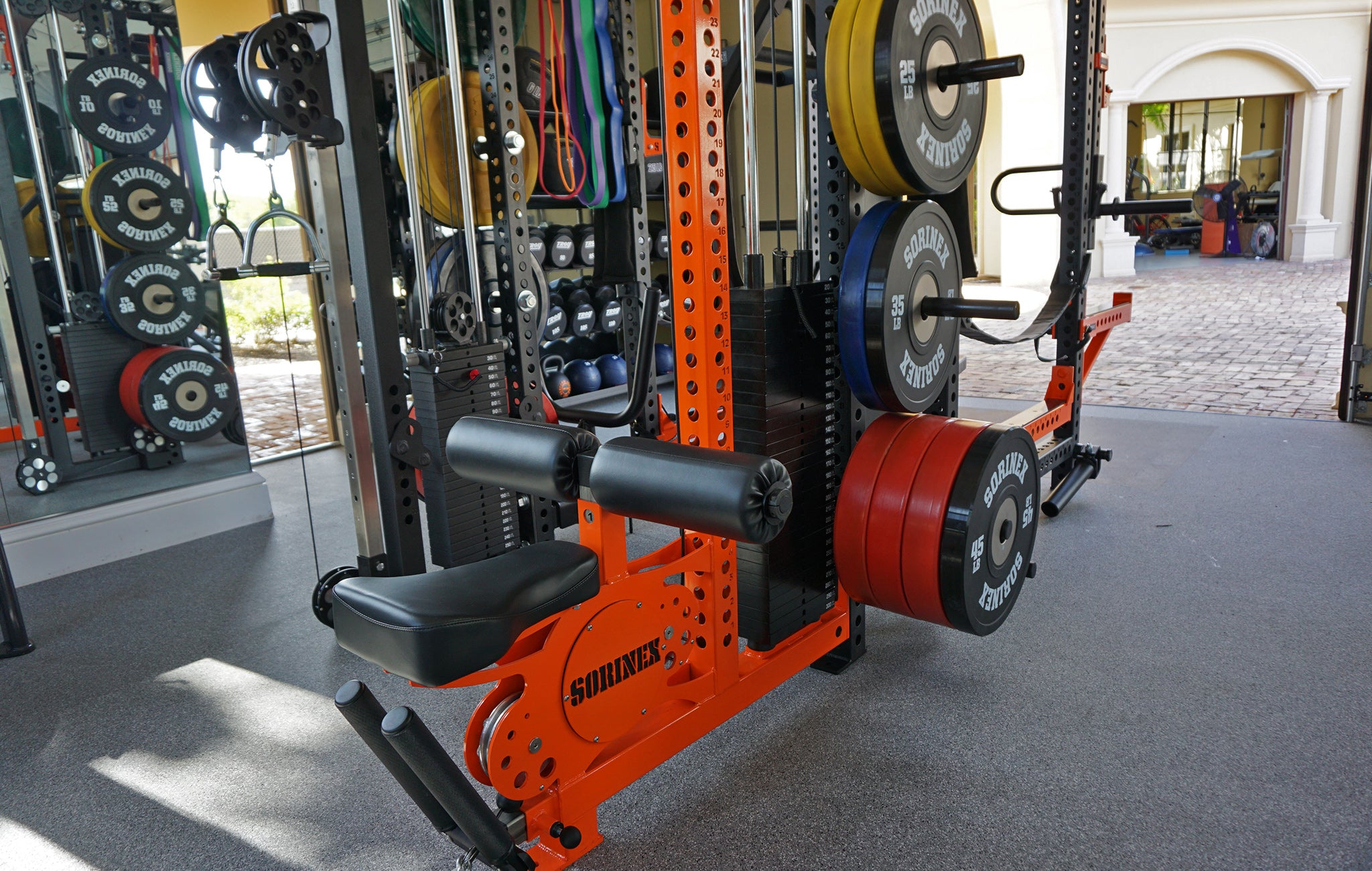 Juan Montoya Sorinex Home Gym