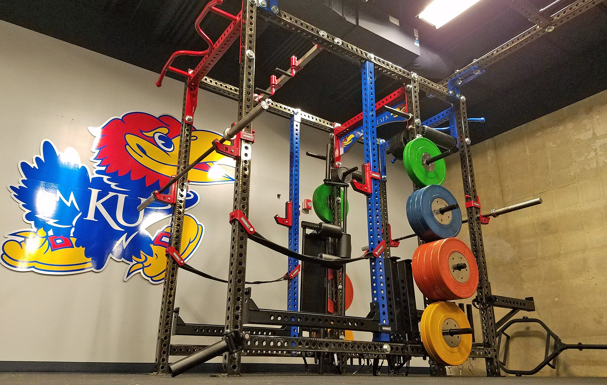 Kansas University strength and conditioning
