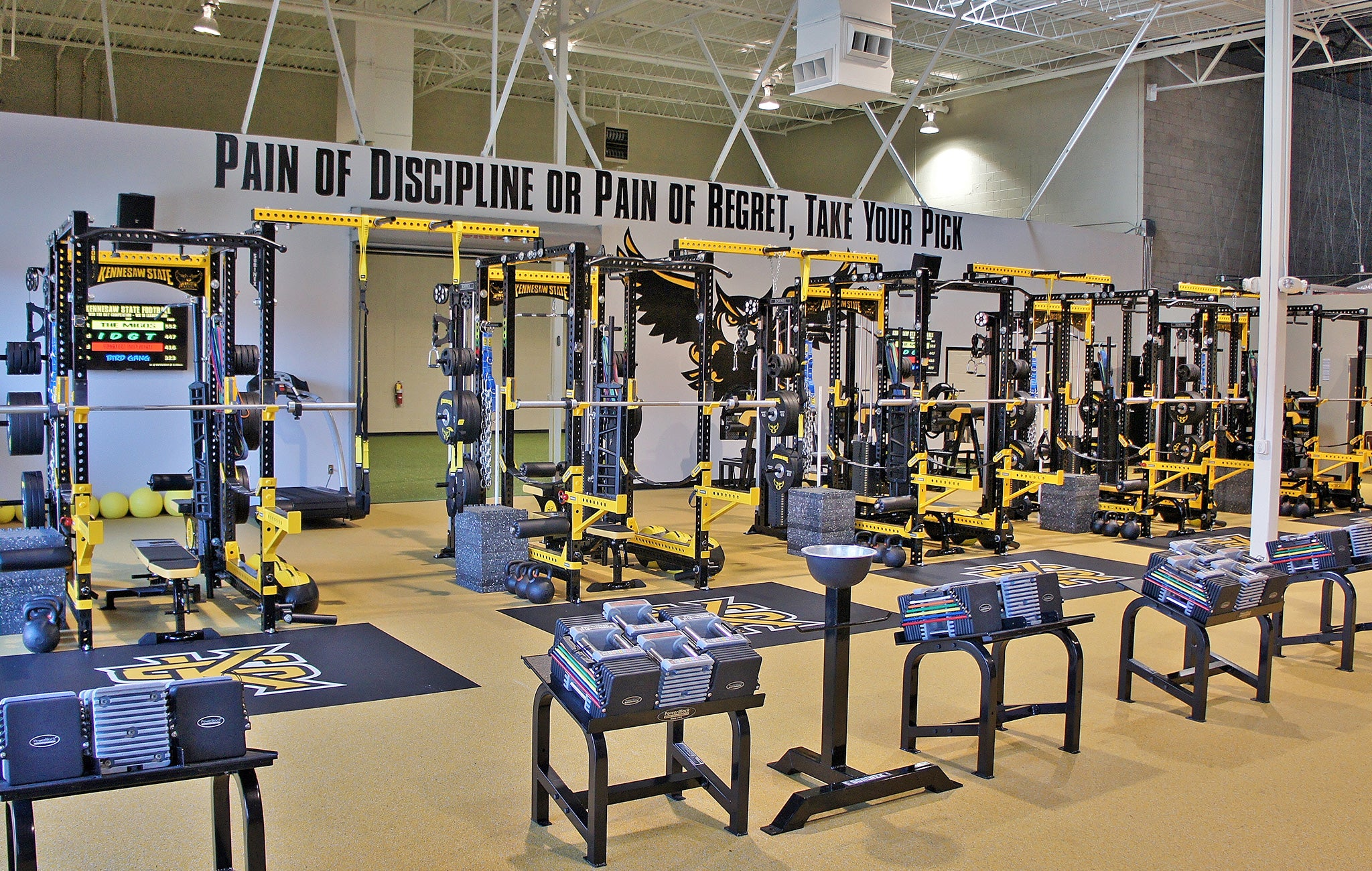 Kennesaw State University Weight Room