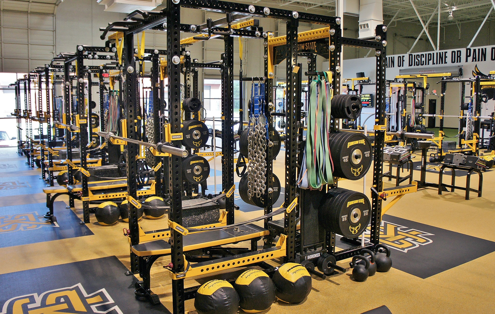 Kennesaw State University strength training