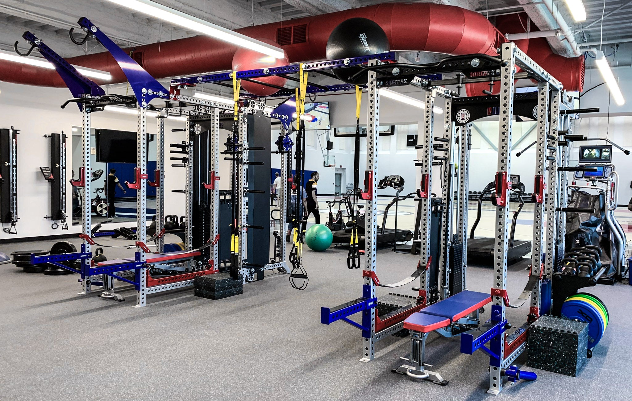 LA Clippers Weight Room