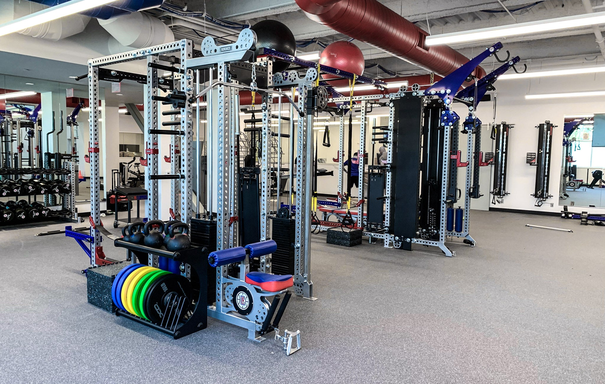 LA Clippers strength and conditioning