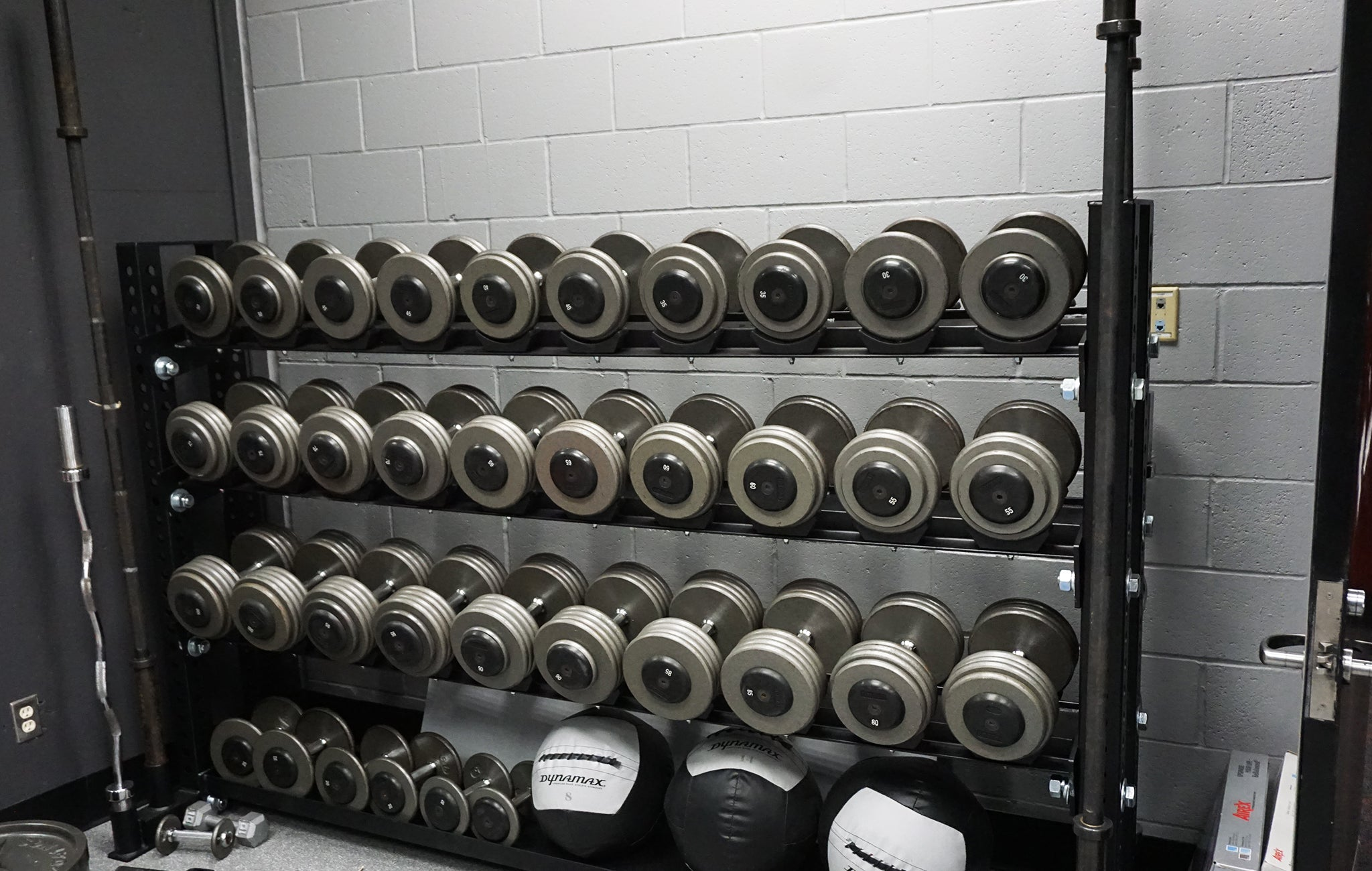 professional ice hockey weight rooms