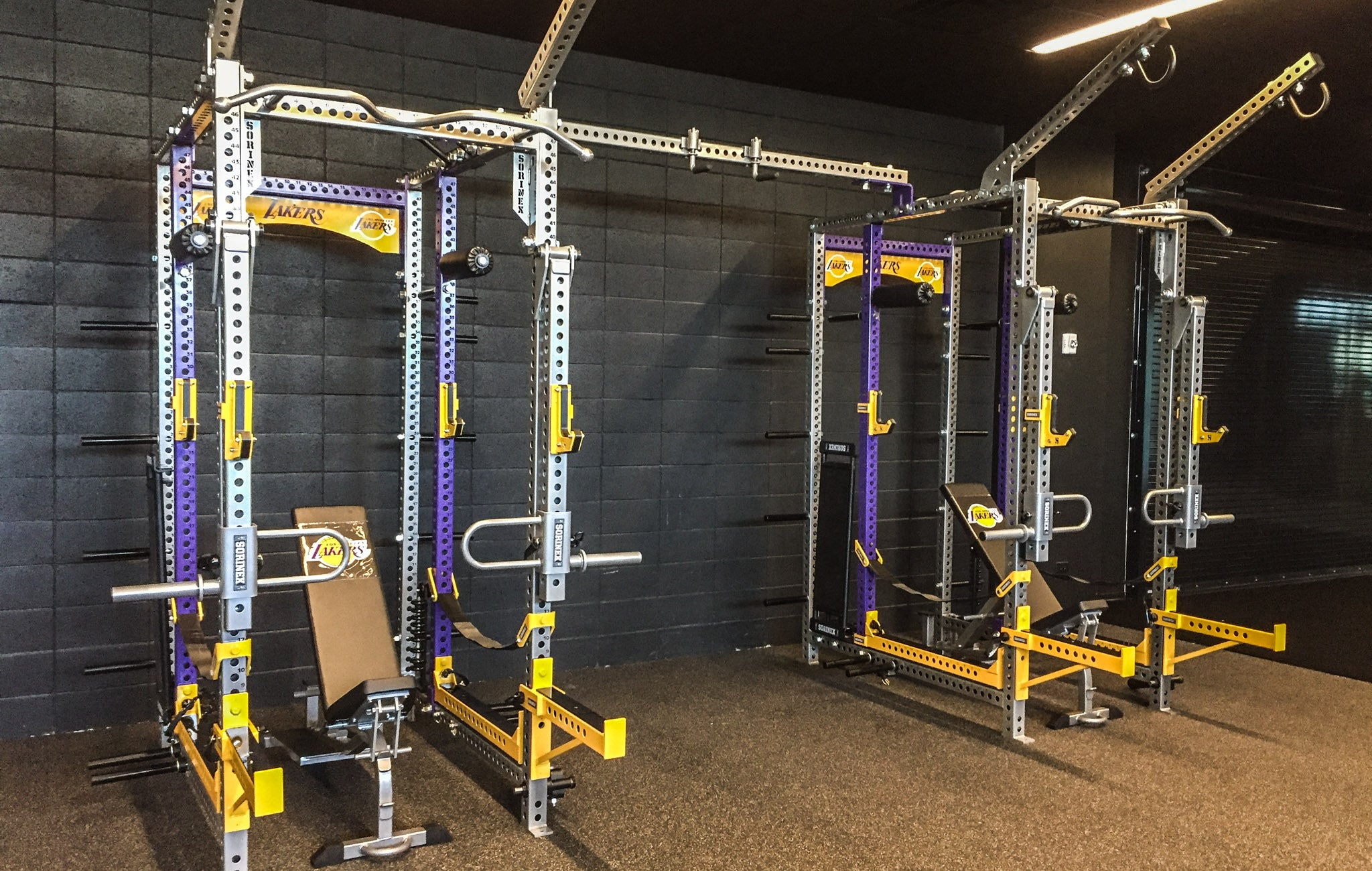 LA Lakers Weight Room