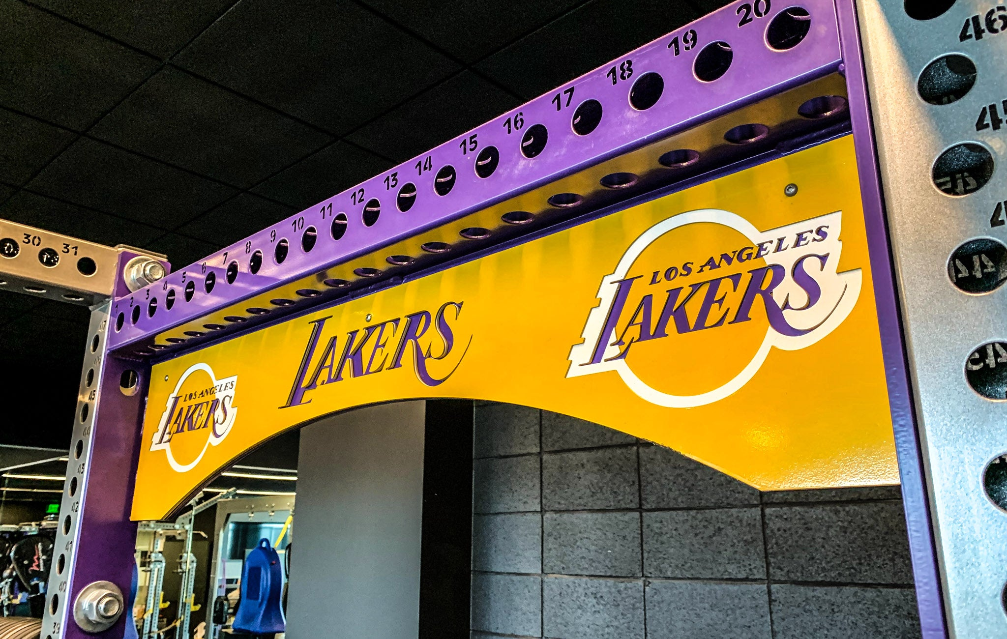 Los Angeles Lakers strength and conditioning
