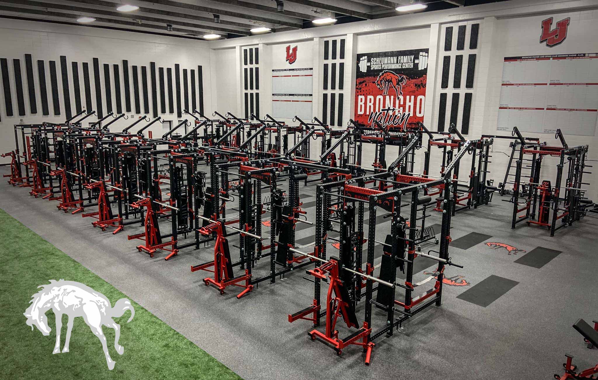 Lafayette Jefferson high school Sorinex strength and conditioning facility