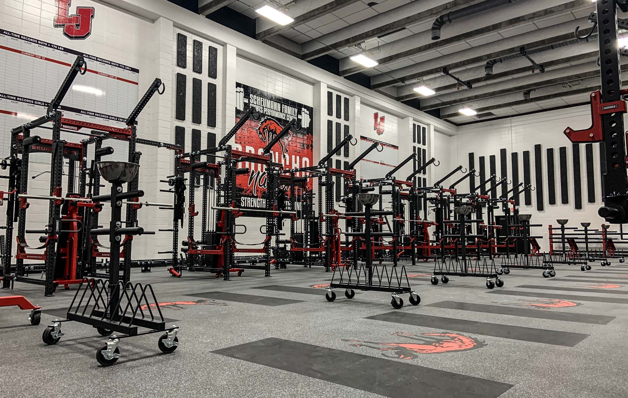 Lafayette Jefferson High School strength training