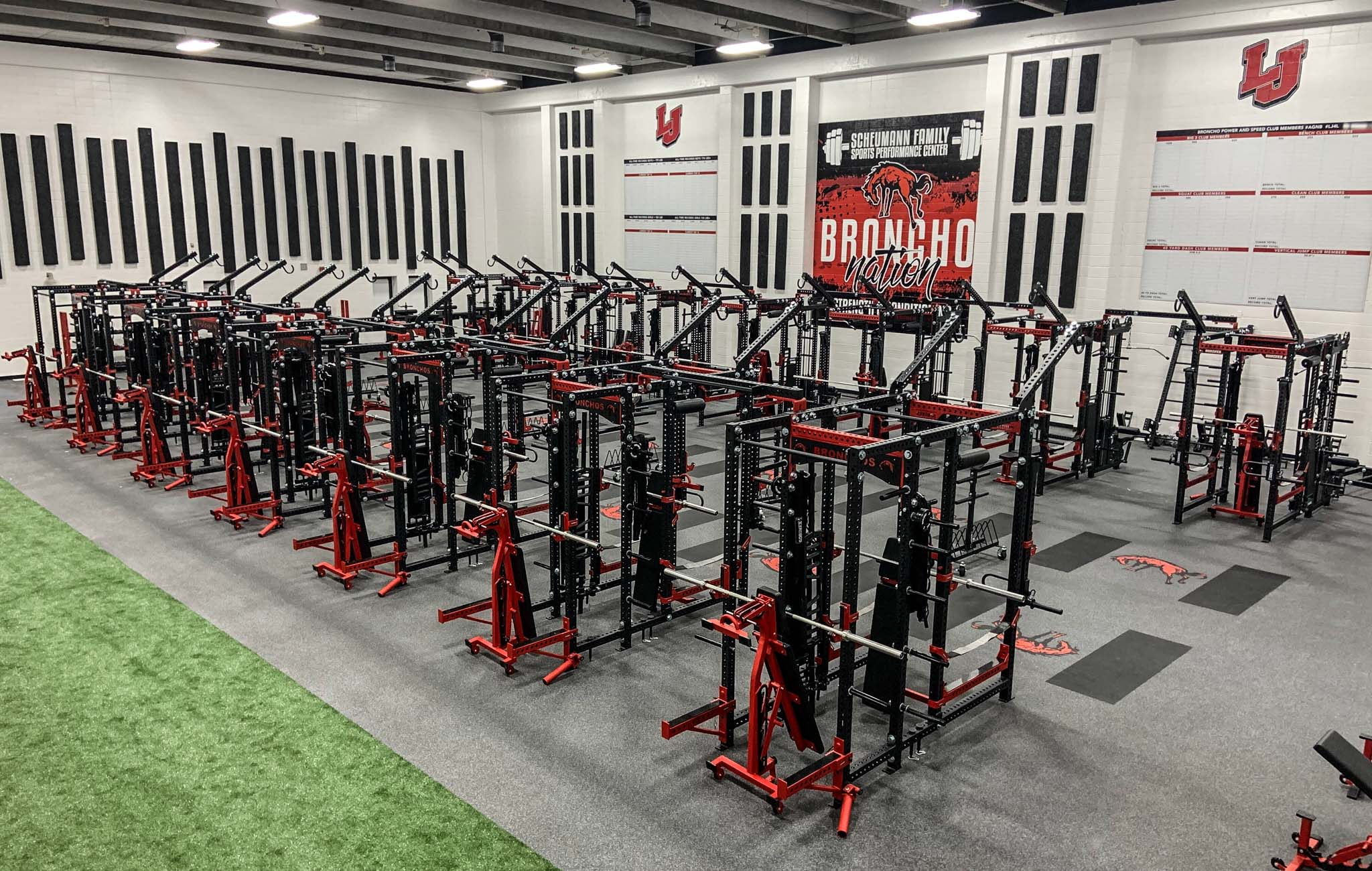 Lafayette Jefferson High School strength and conditioning