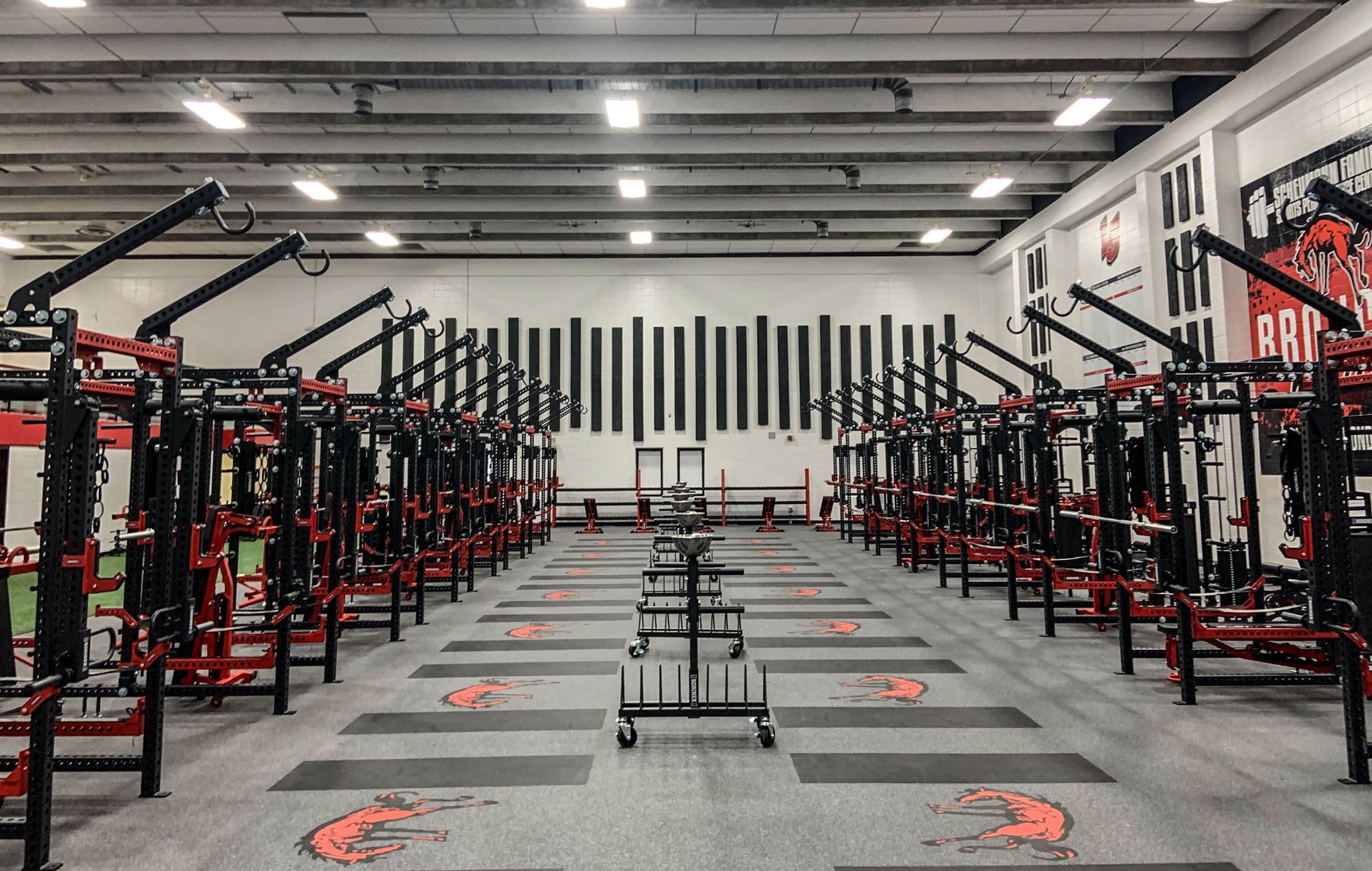 Lafayette Jefferson High School Weight Room