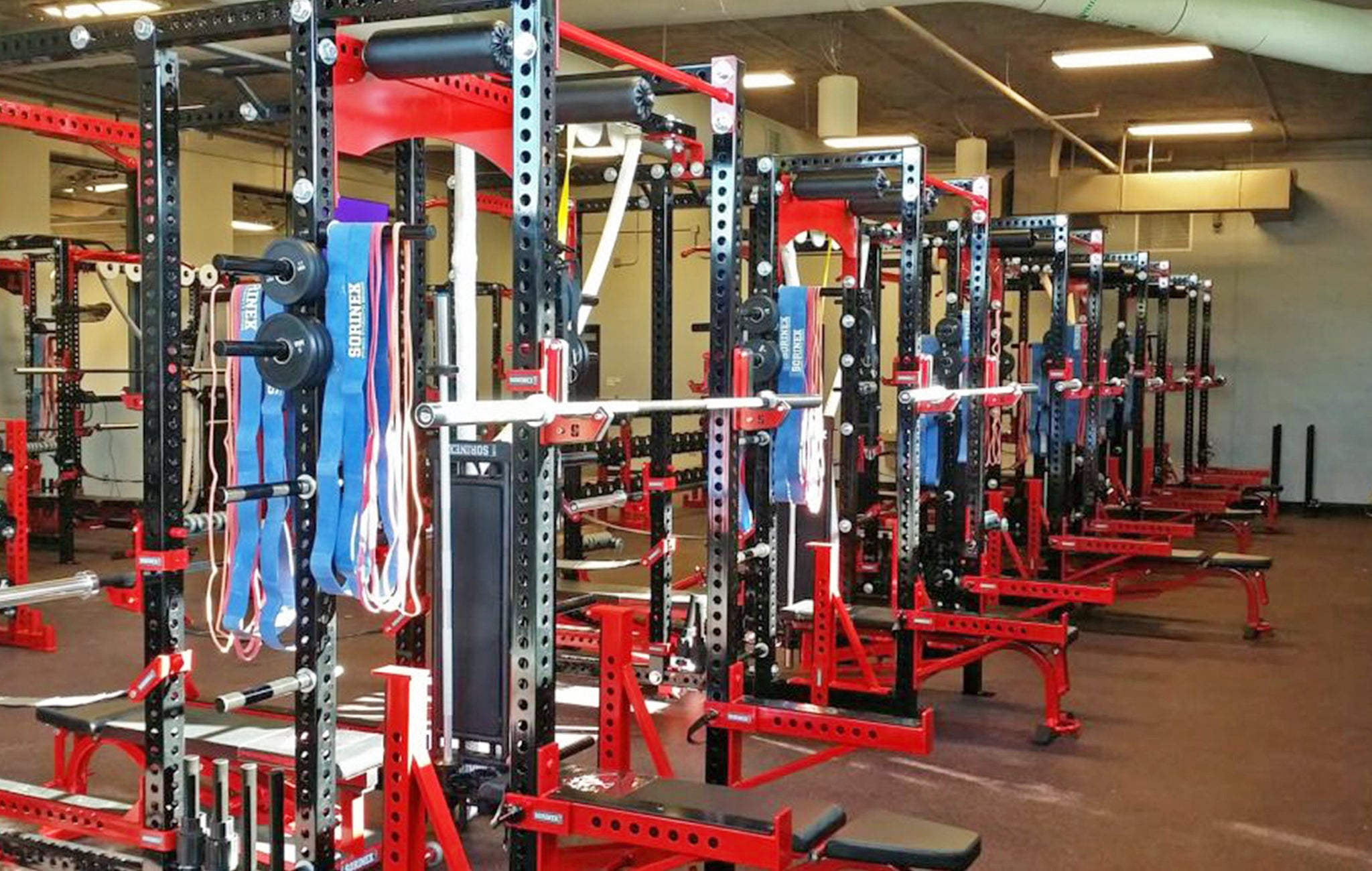 Lansing High School Weight Room