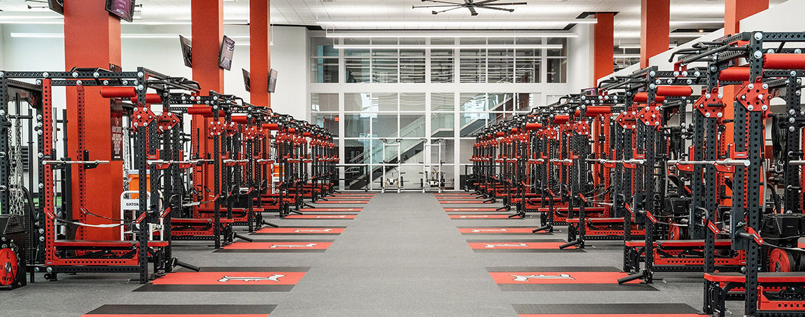 University of Louisville Football Weight Room