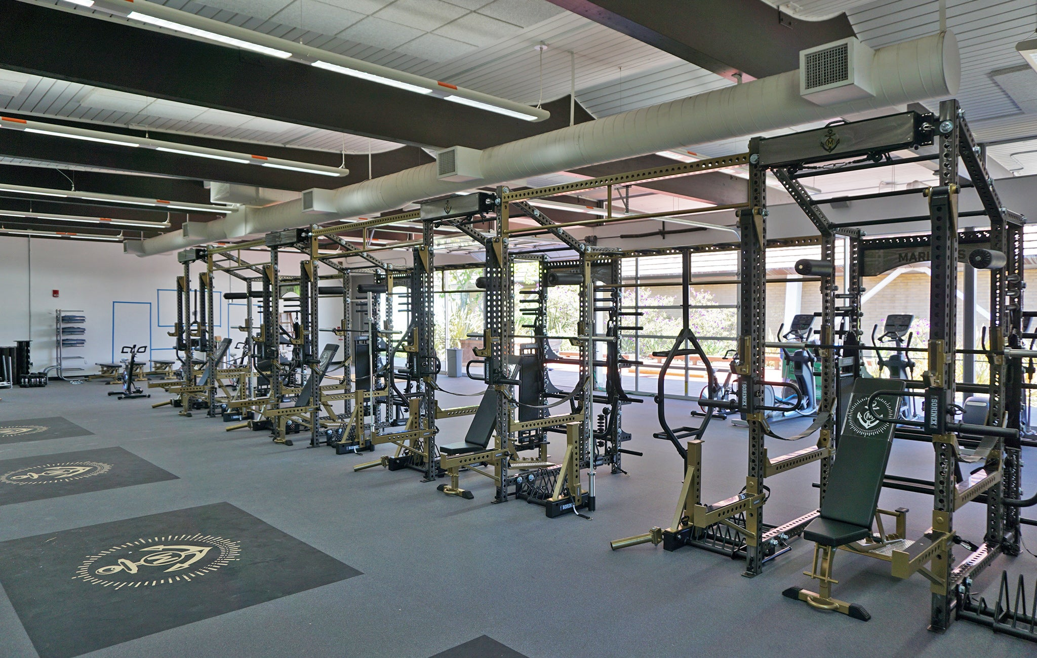 College of Marin Weight Room