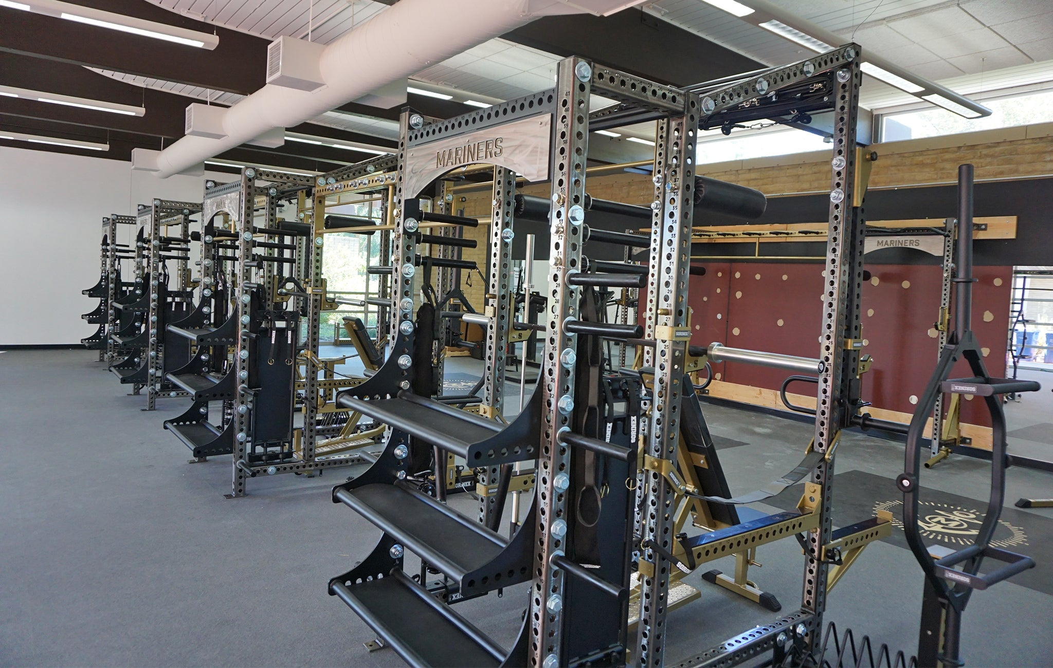 College of Marin strength and conditioning