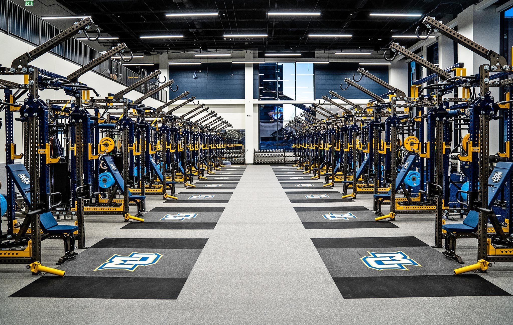 Marquette University Weight Room
