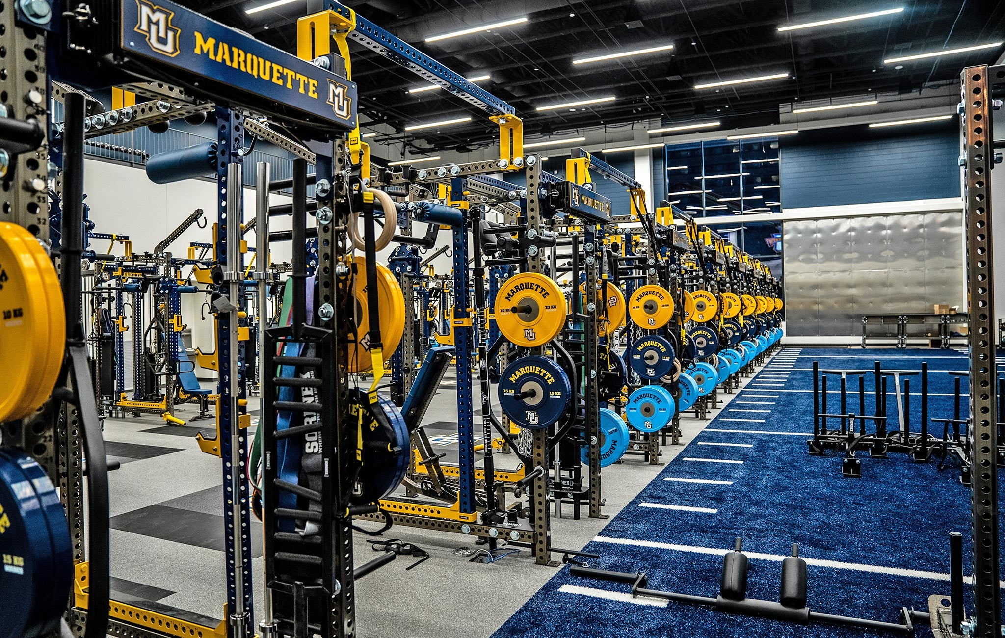 Marquette strength and conditioning