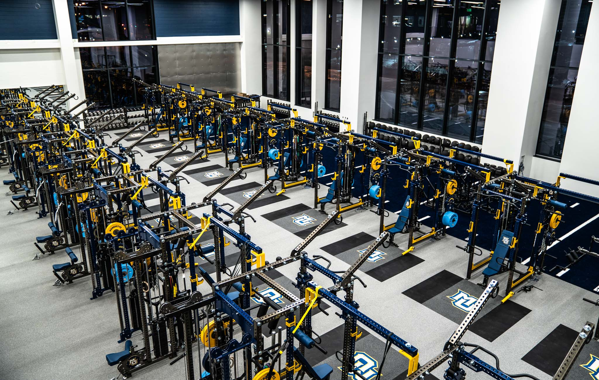 Marquette weight room