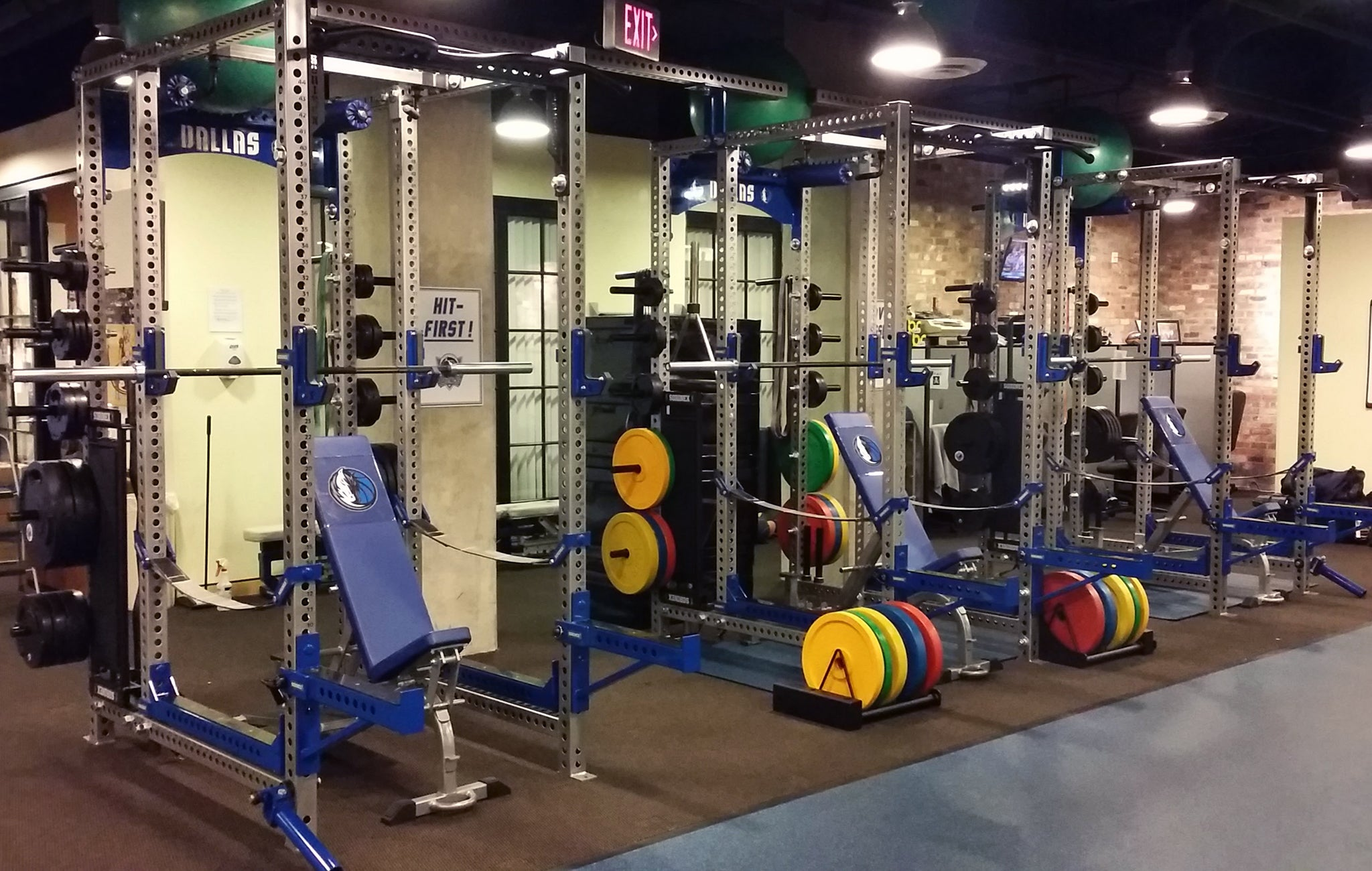 Dallas Mavericks Weight Room