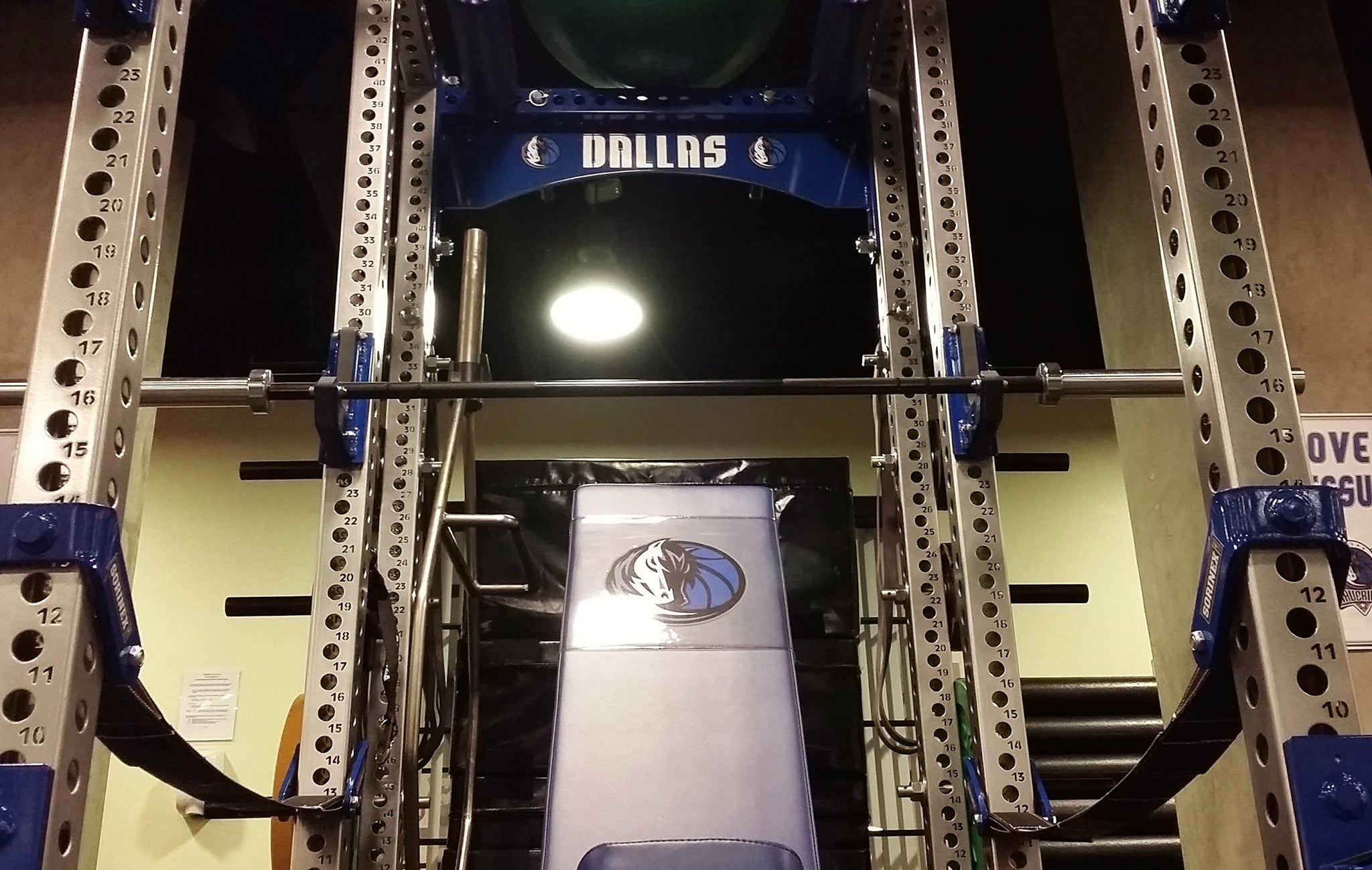 Dallas Mavericks strength and conditioning