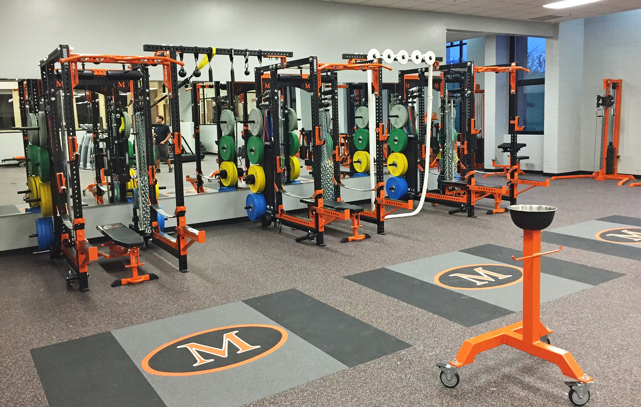 McDonogh High School Weight Room
