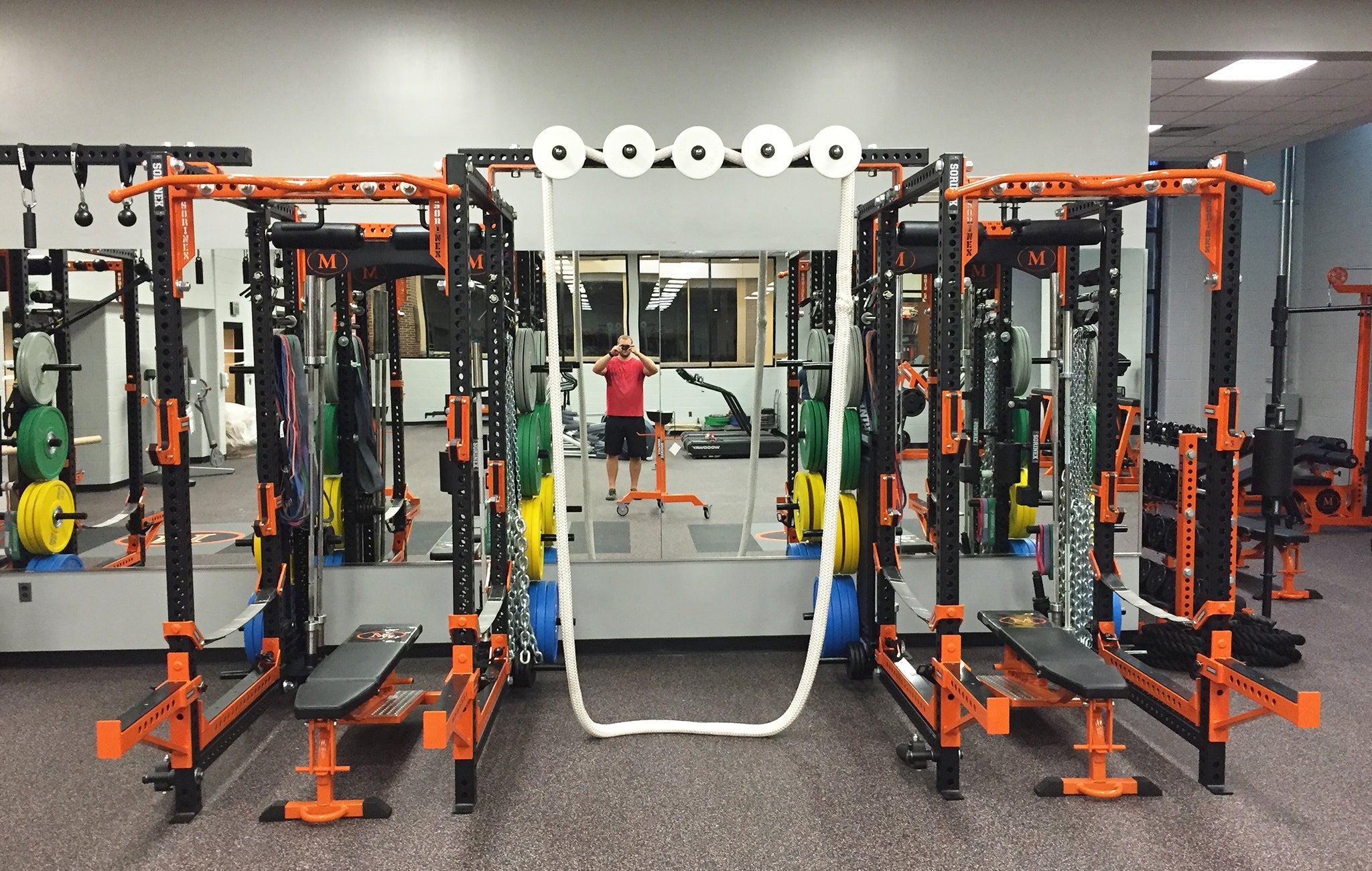 McDonogh High School strength training