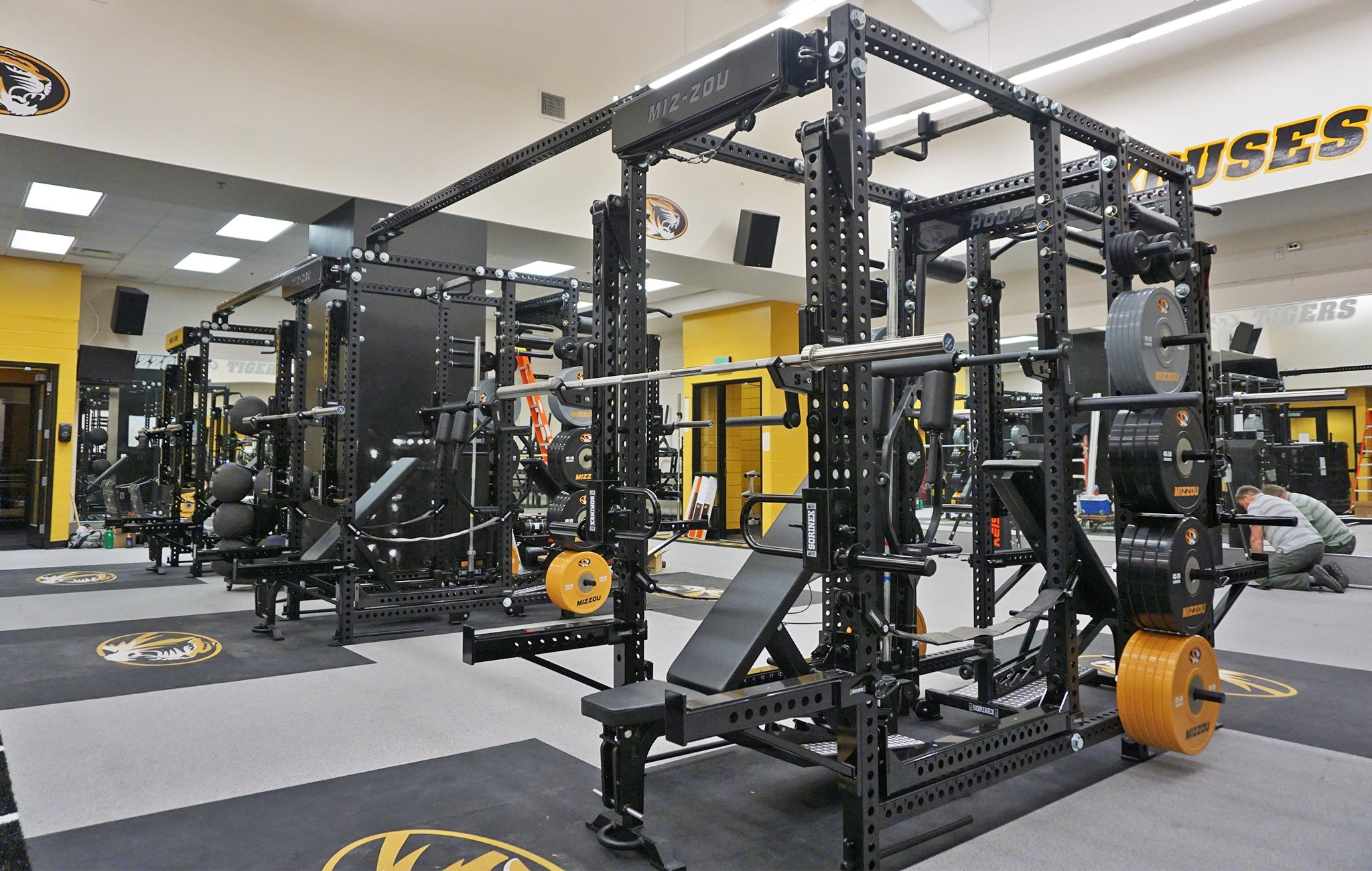 Mizzou Weight Room