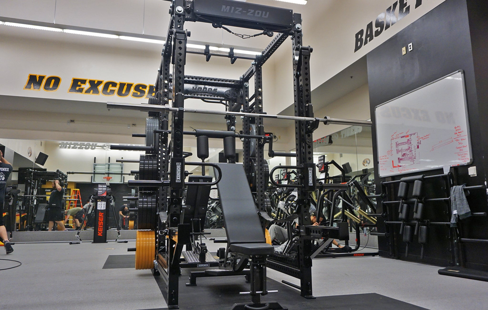 Mizzou strength and conditioning