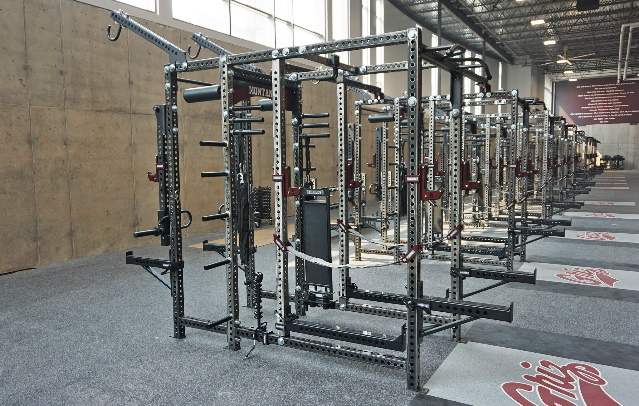 University of Montana Weight Room