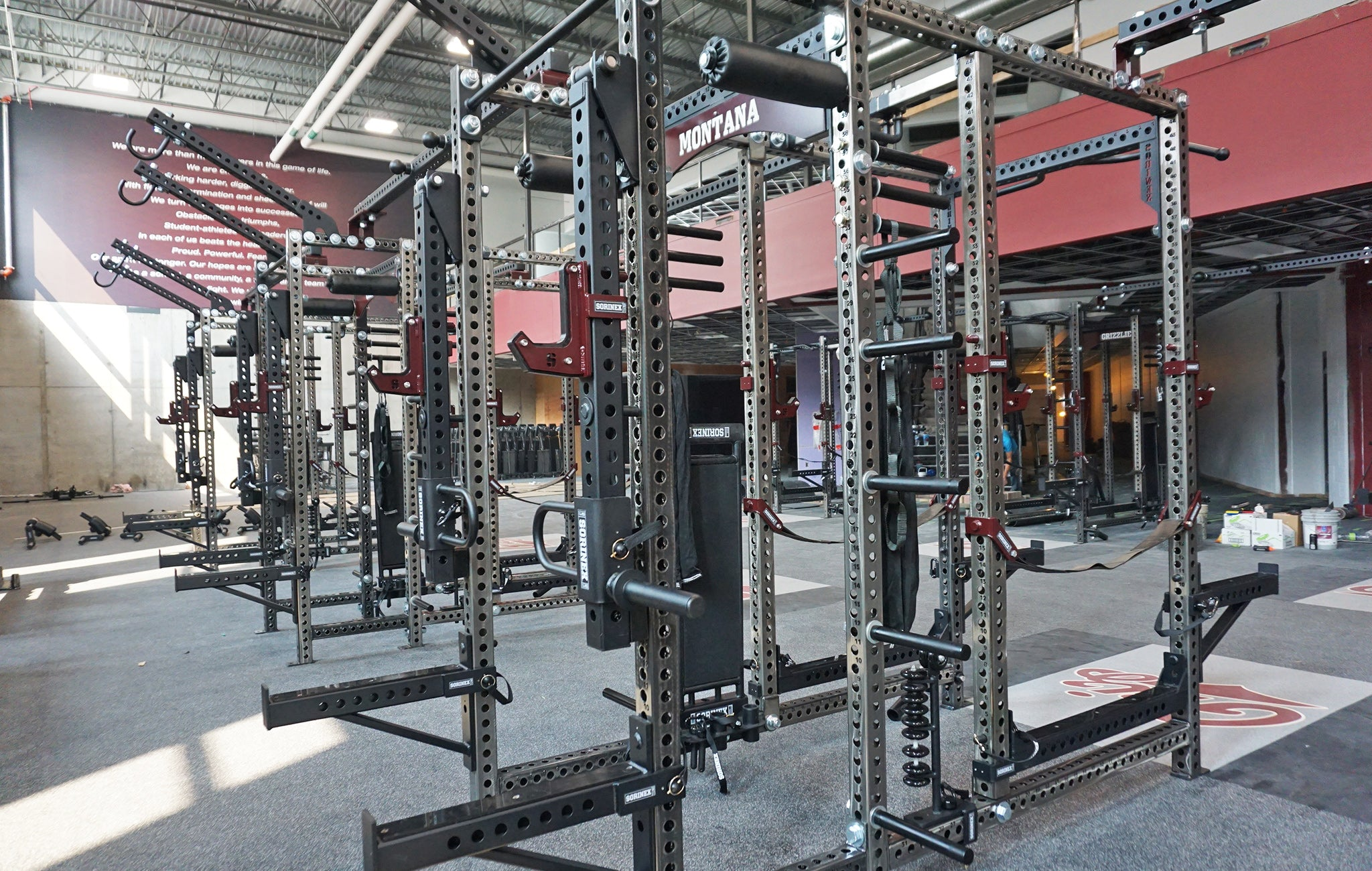 University of Montana strength and conditioning
