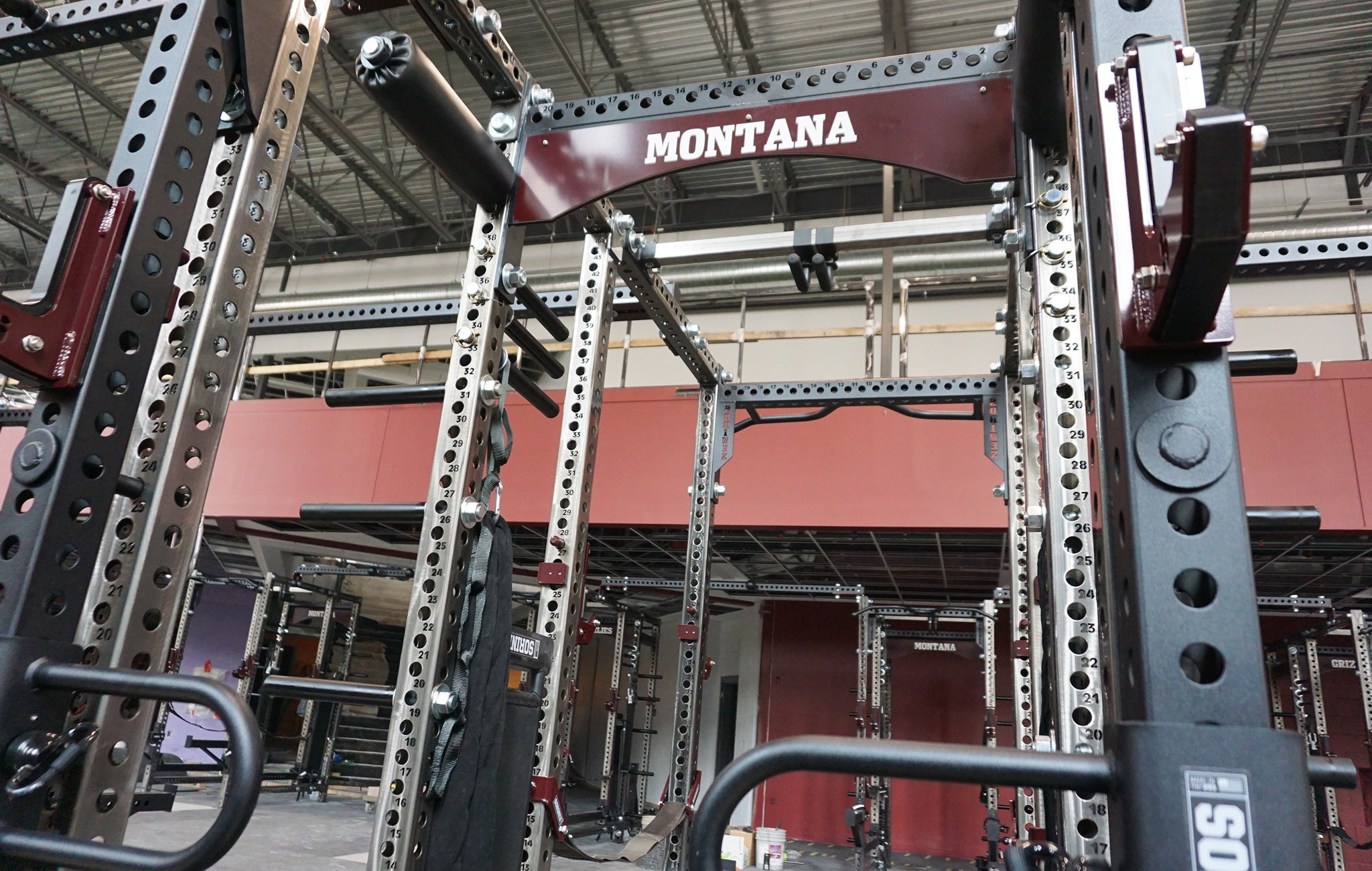 University of Montana strength training