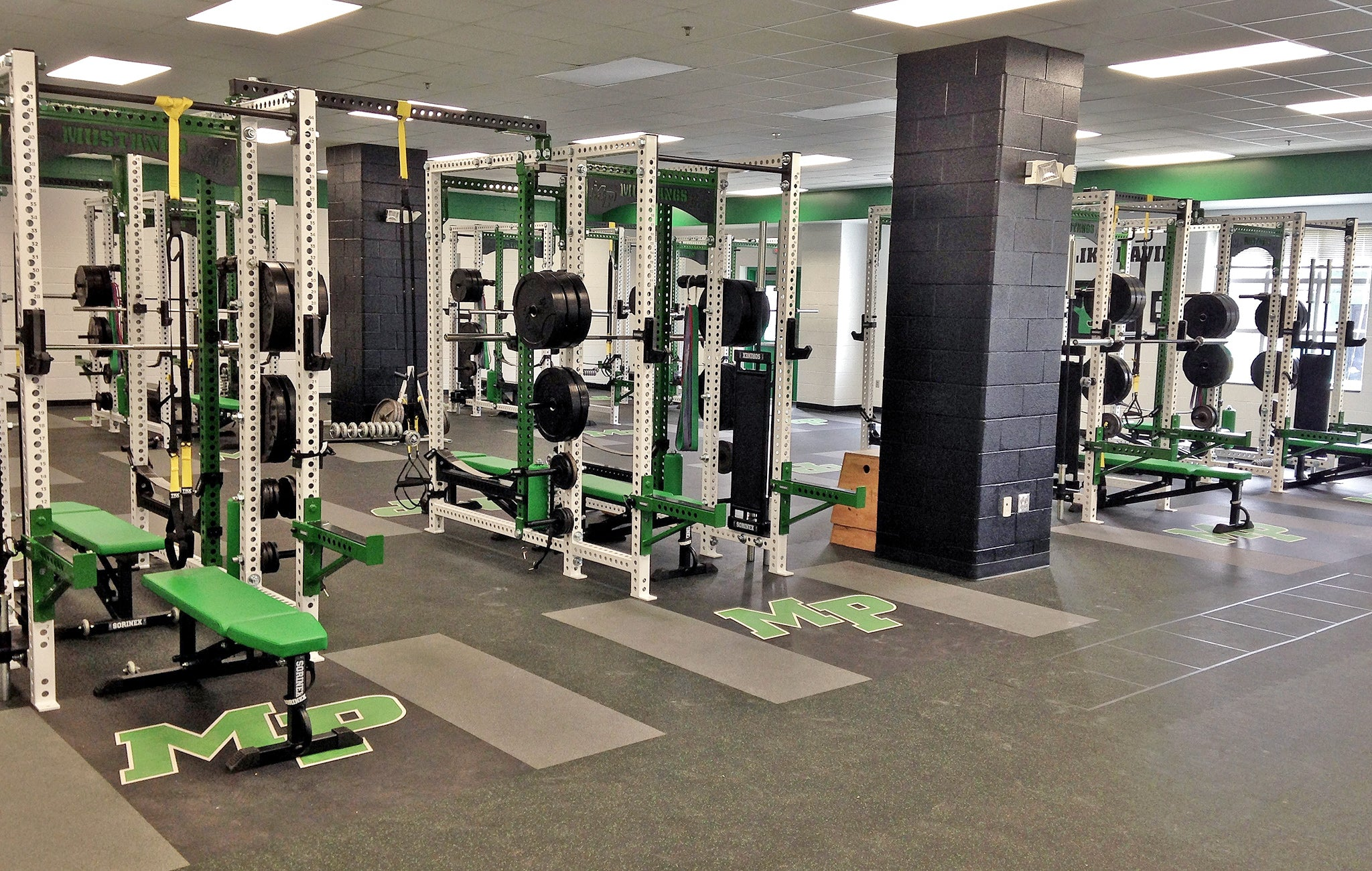 Myers Park High School Weight Room