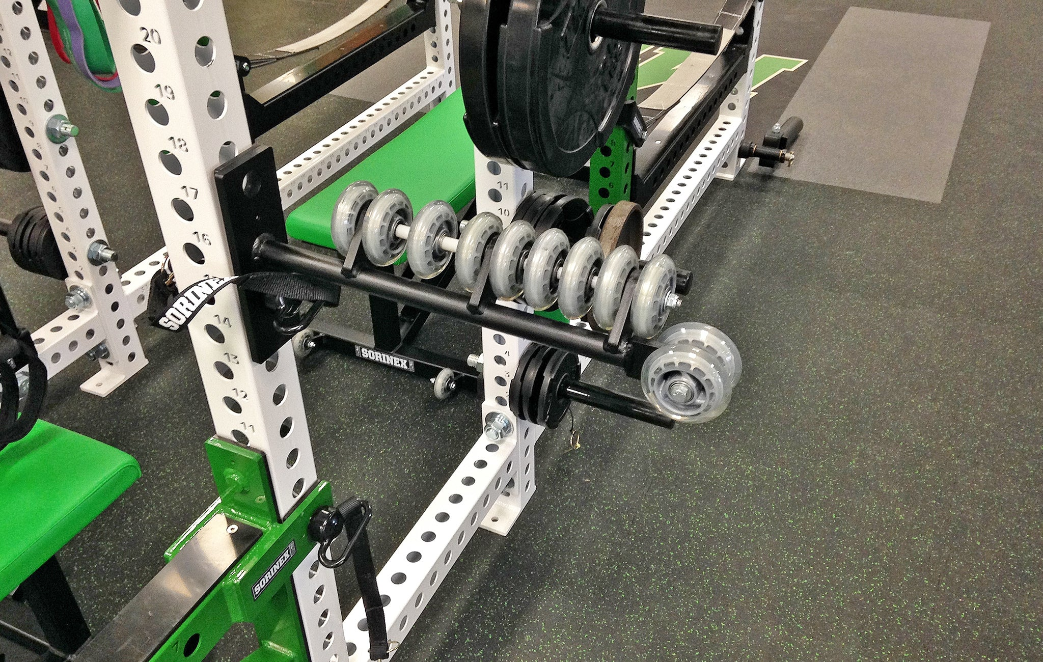 Myers Park High School strength training