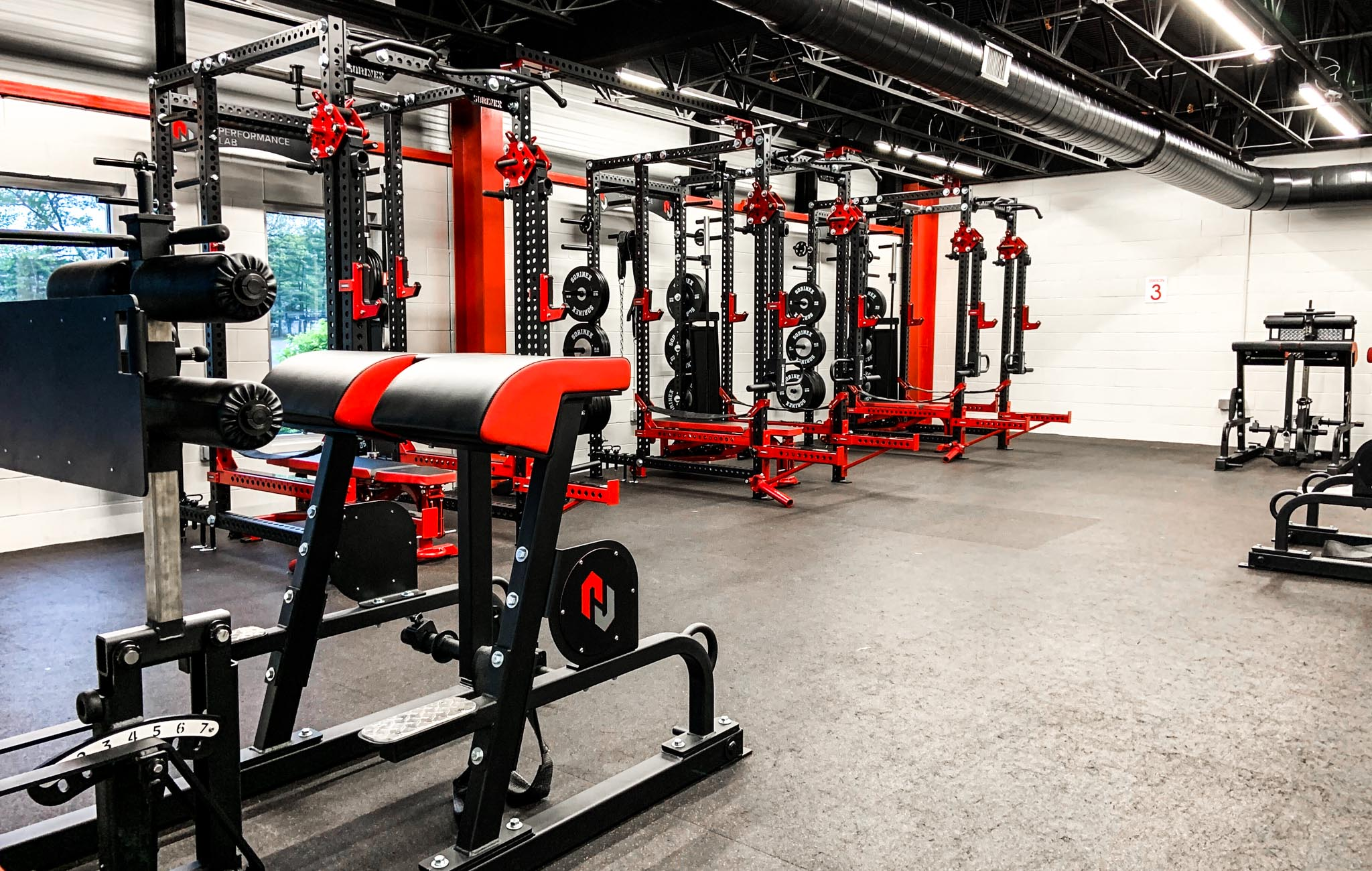 NJ Sports Performance Weight Room