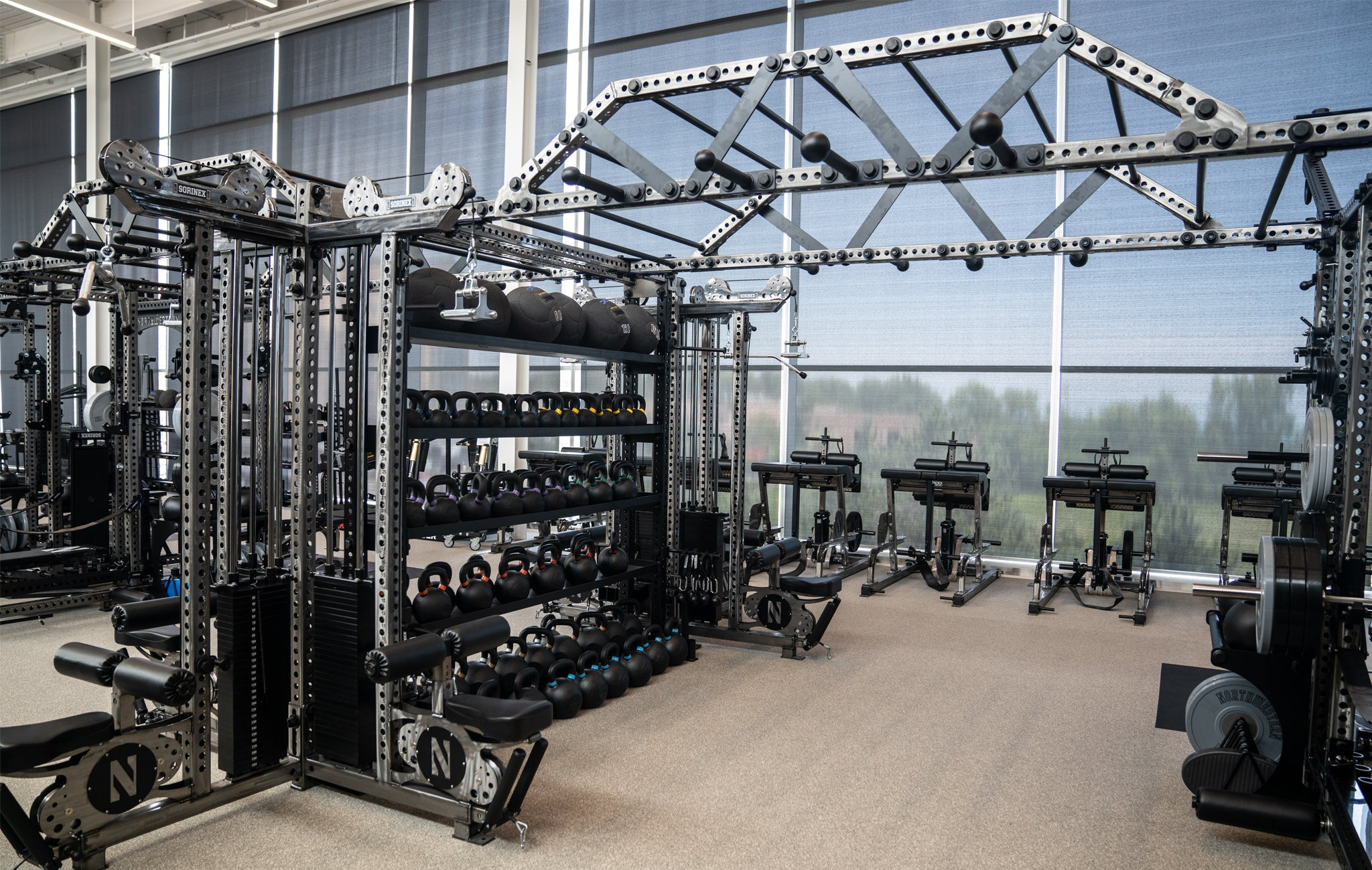 Northwestern University Olympic Weight Room