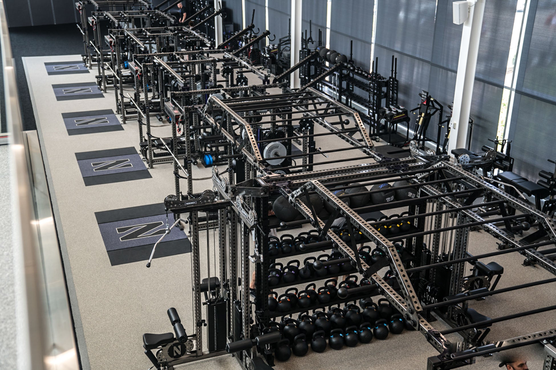 Northwestern University power racks