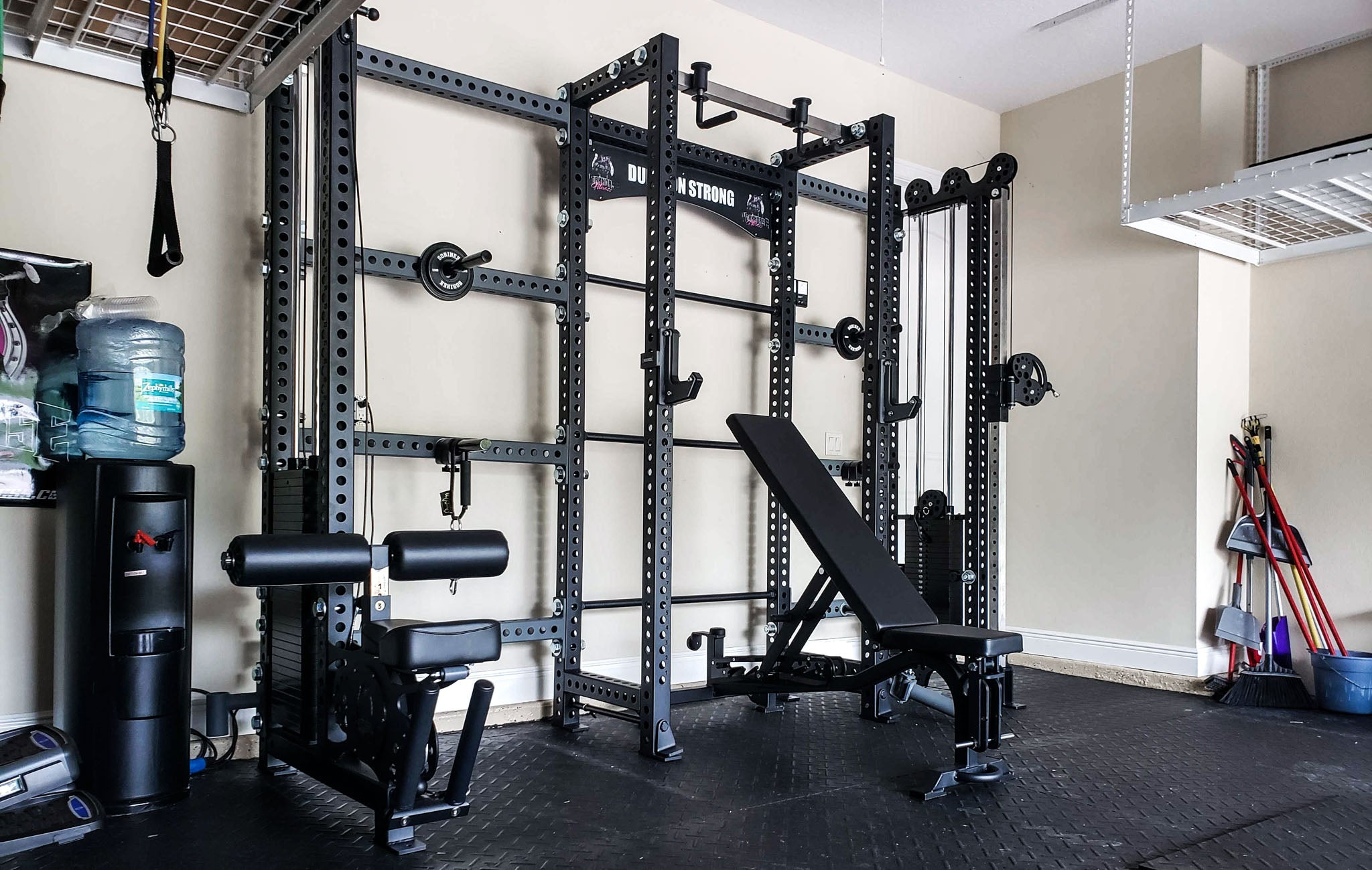 Natalie Neidhart Home Gym