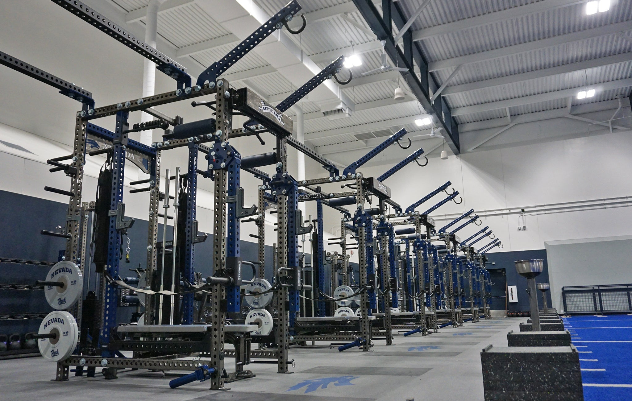 University of Nevada Weight Room