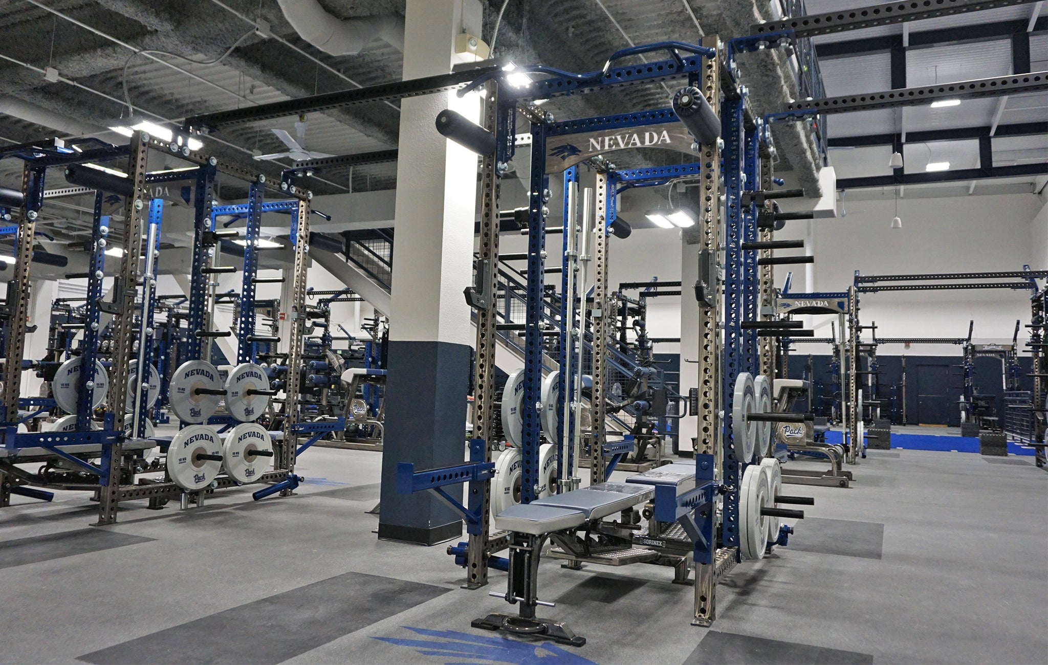 University of Nevada strength training facility