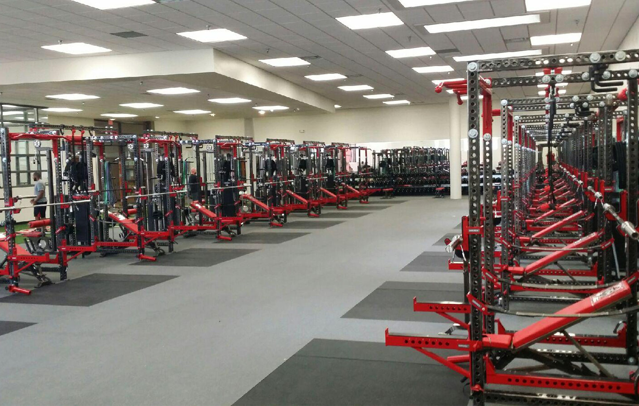 University of New Mexico Weight Room