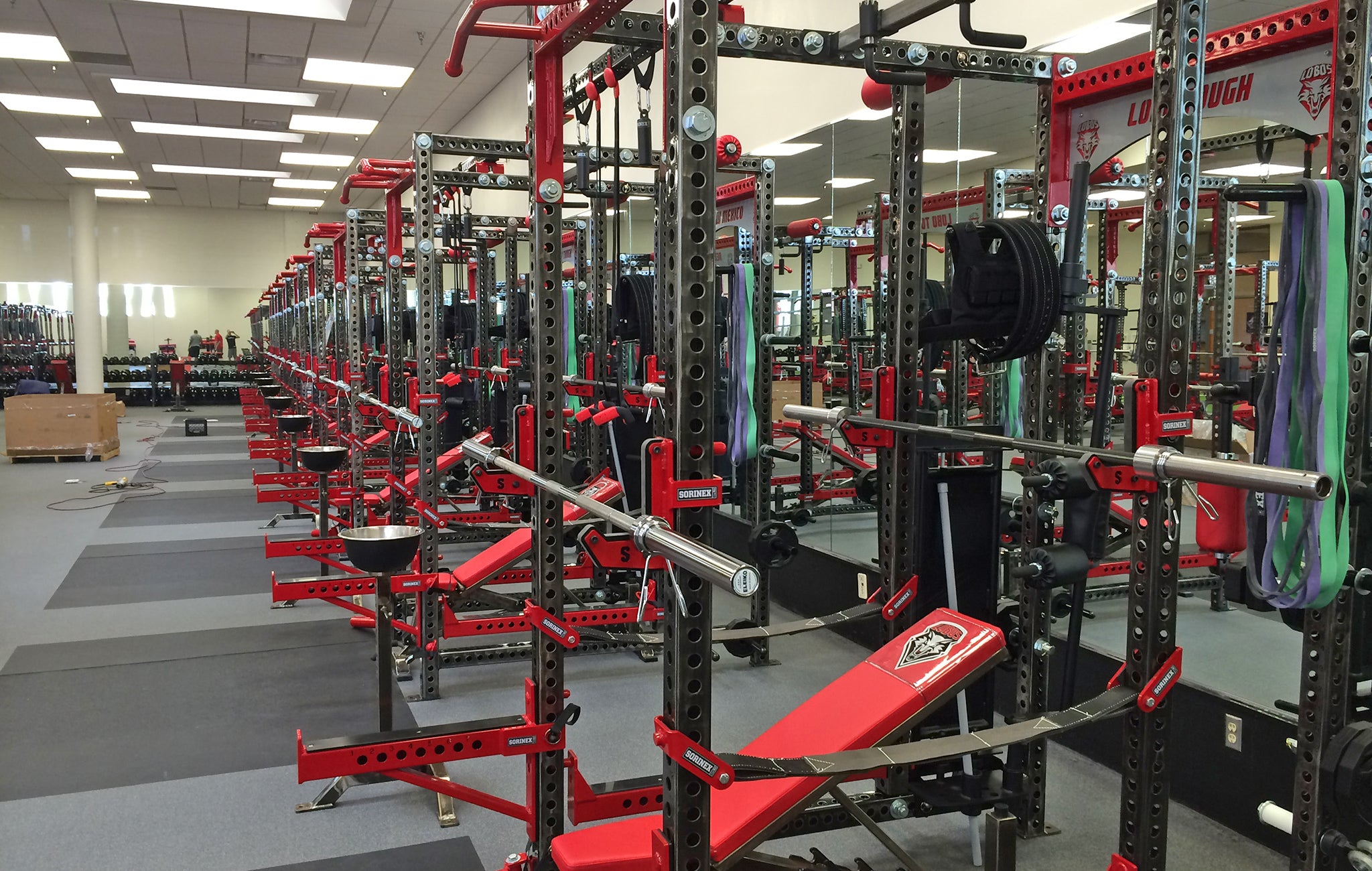 University of New Mexico strength and conditioning