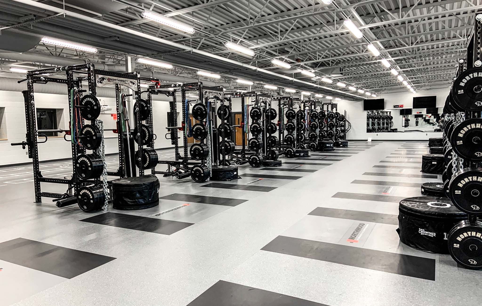 Northwood High School Weight Room