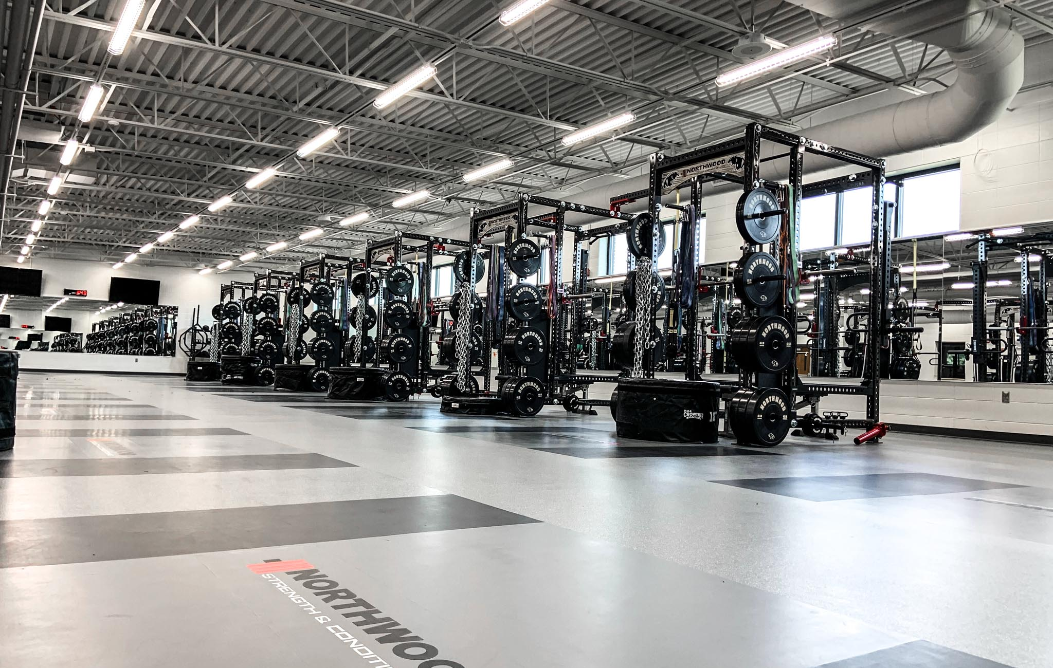 Northwood High School strength and conditioning