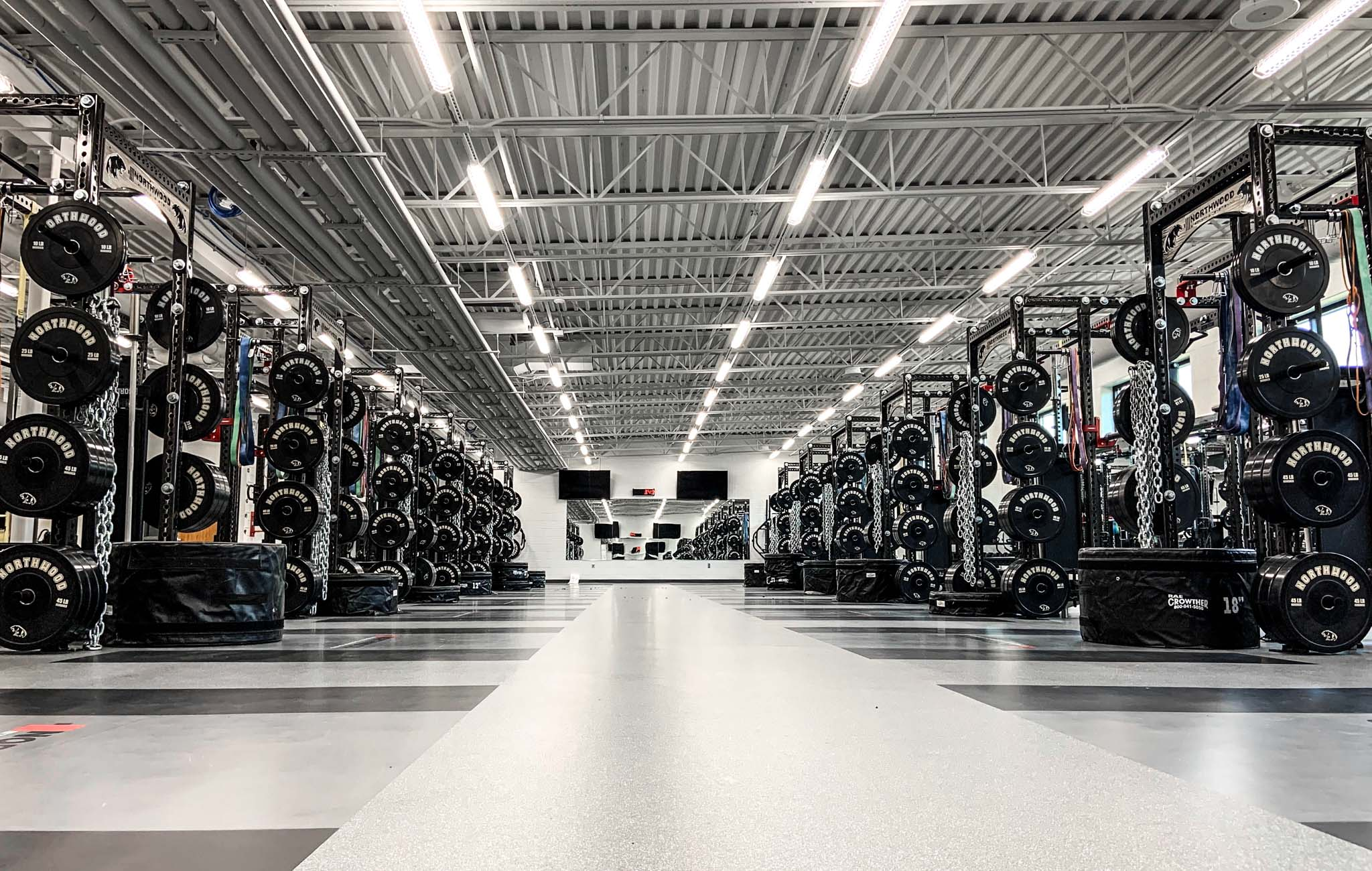 high school weight rooms