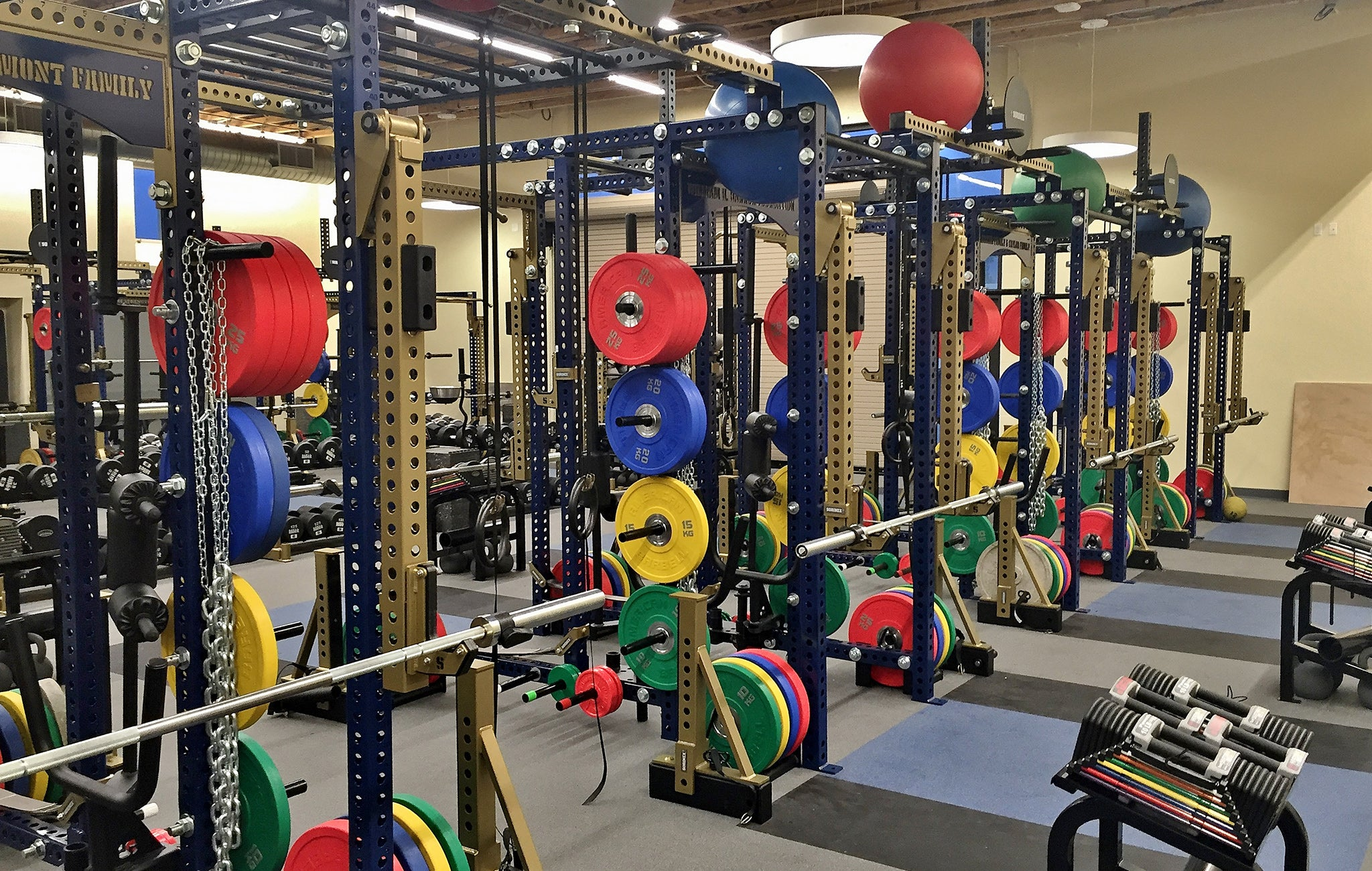 Notre Dame High School Weight Room