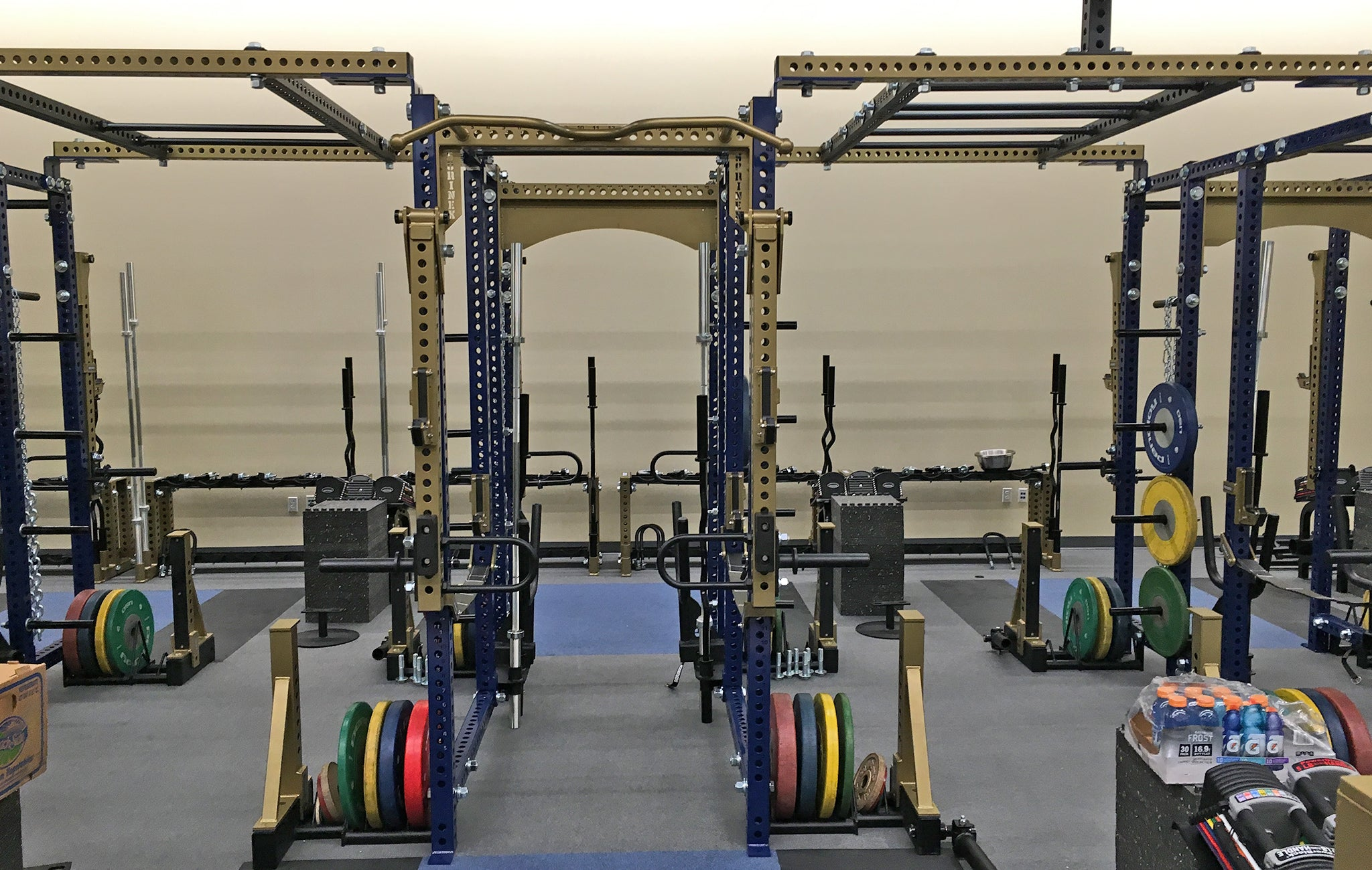 Notre Dame High School strength and conditioning