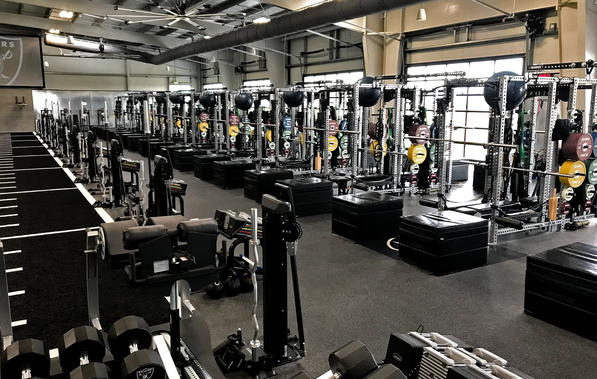 Oakland Raiders Weight Room