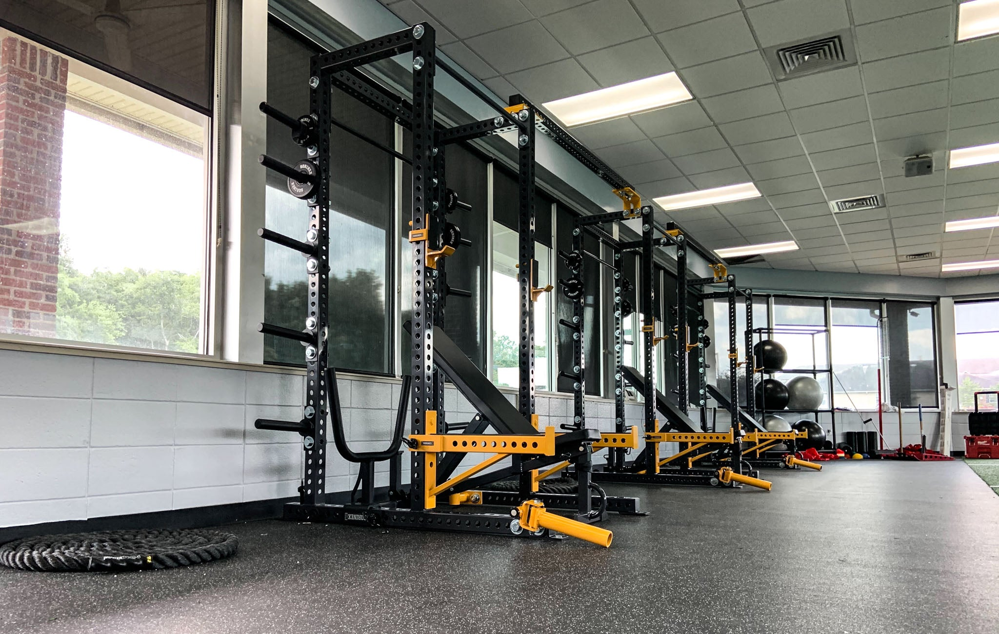 Ochsner Health strength training facility