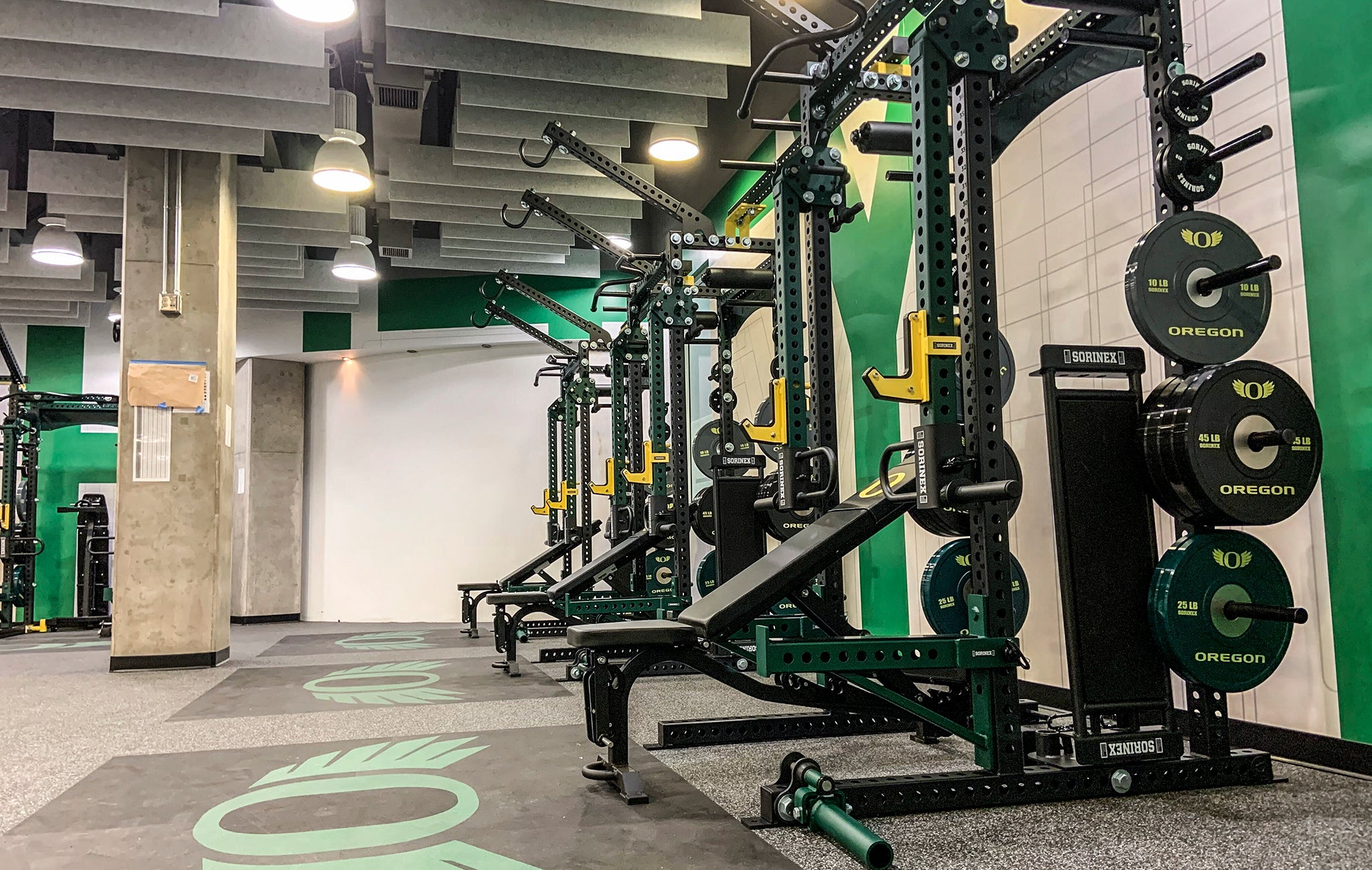 college basketball strength training facilities
