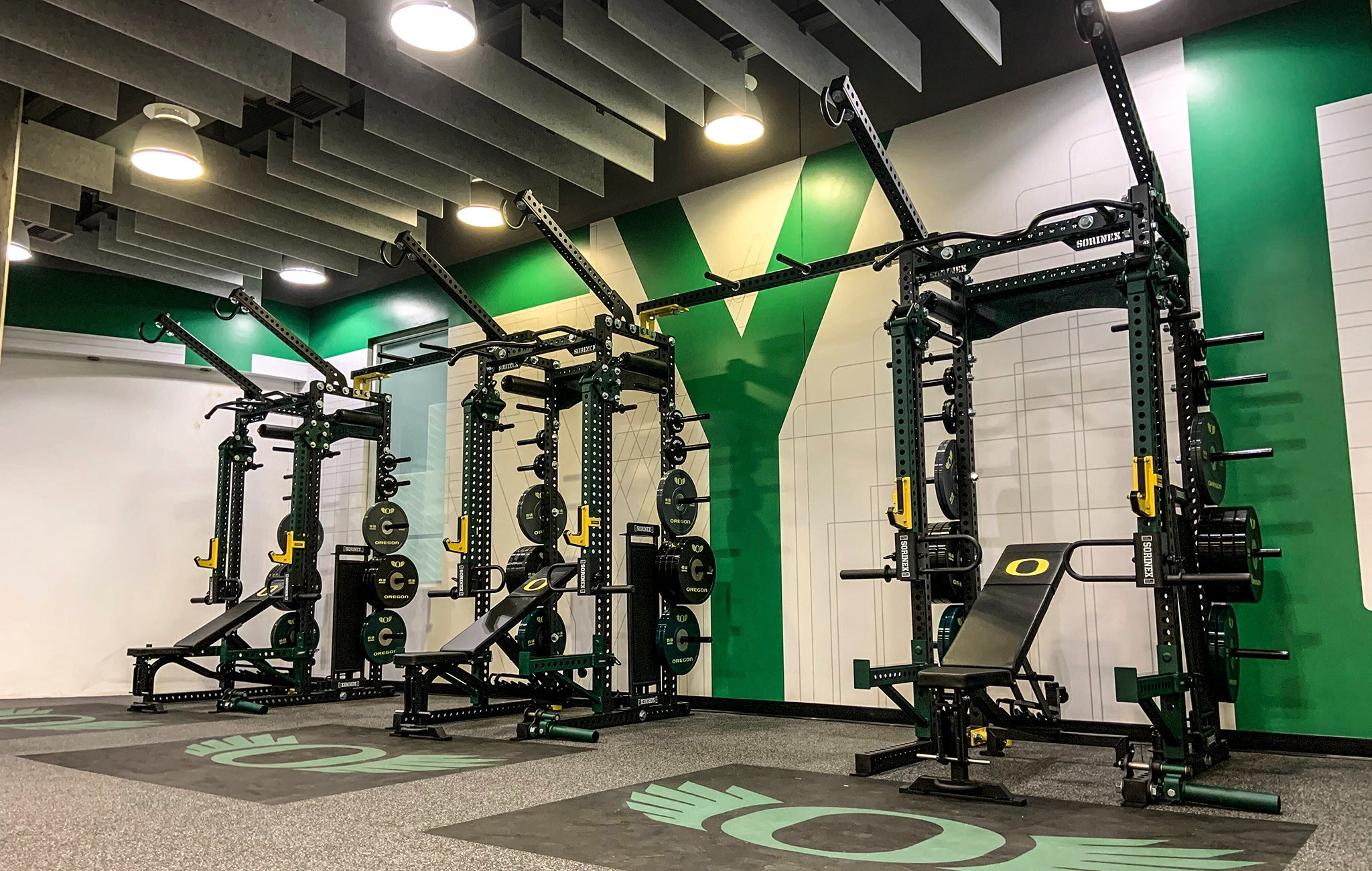 University of Oregon Weight Room