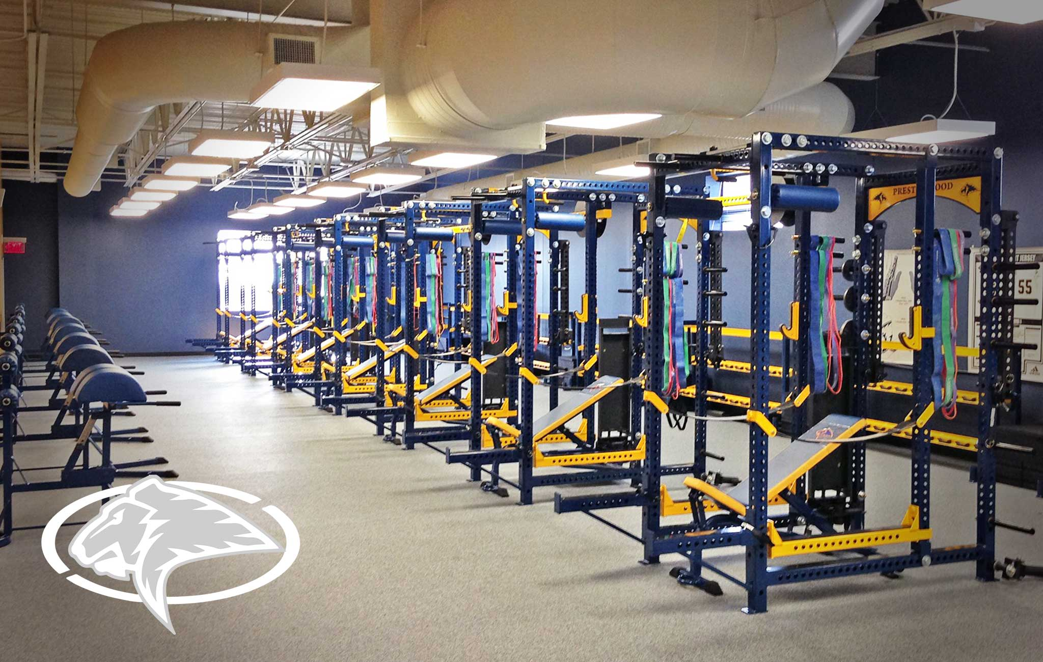 Prestonwood Christian Academy Sorinex strength and conditioning facility