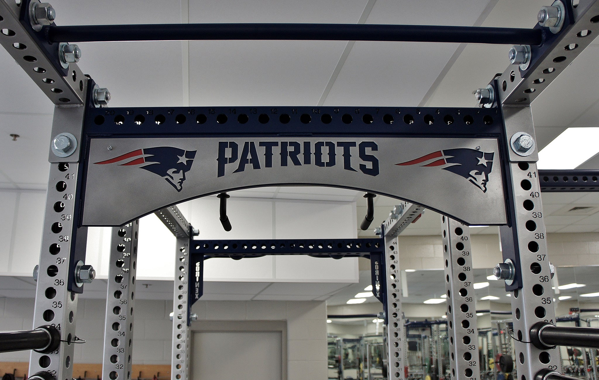 New England Patriots strength training